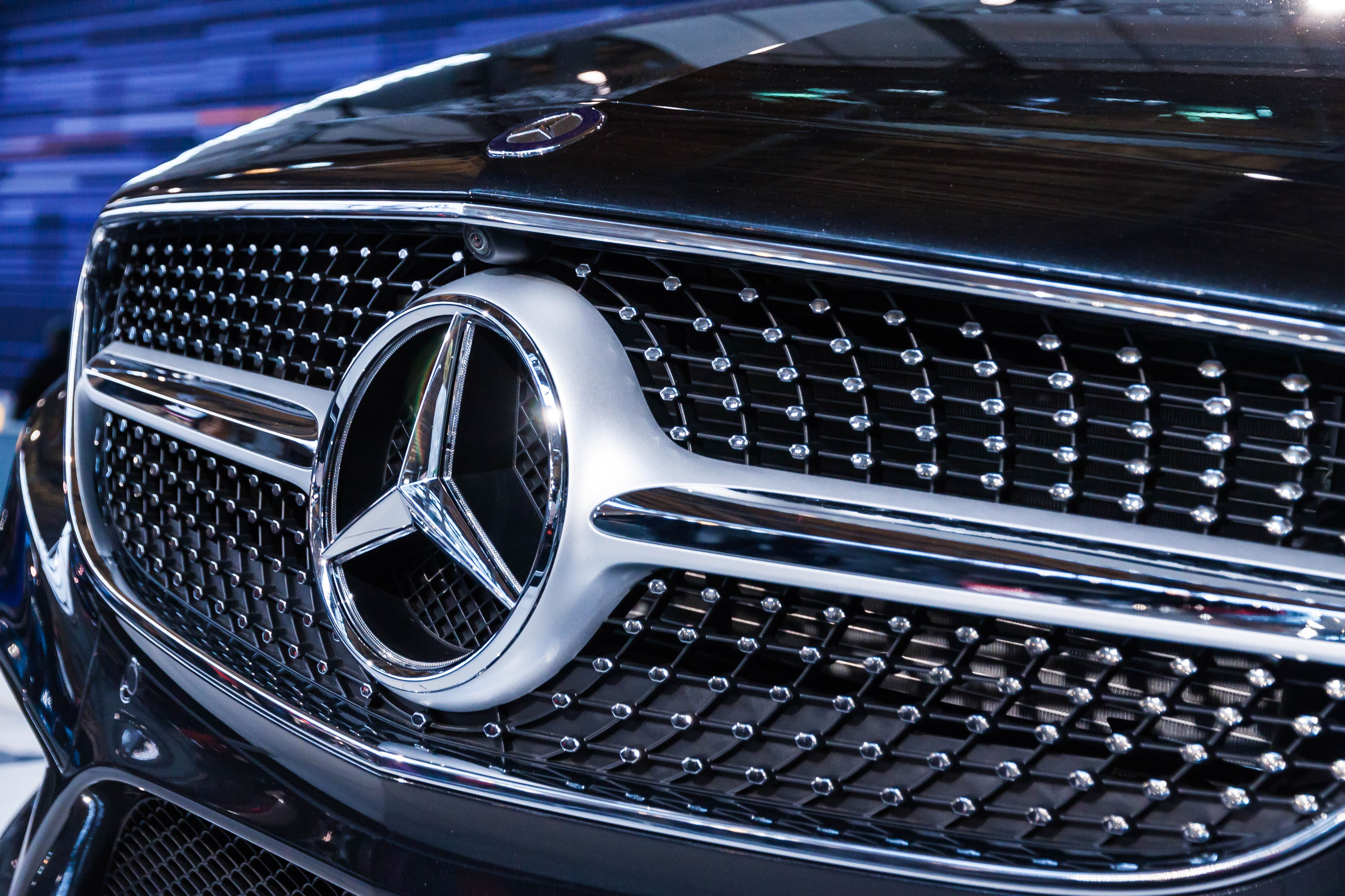 Photo of Mercedes-benz Grille, Modern, Wheel, Vehicle, Transportation system, HQ Photo