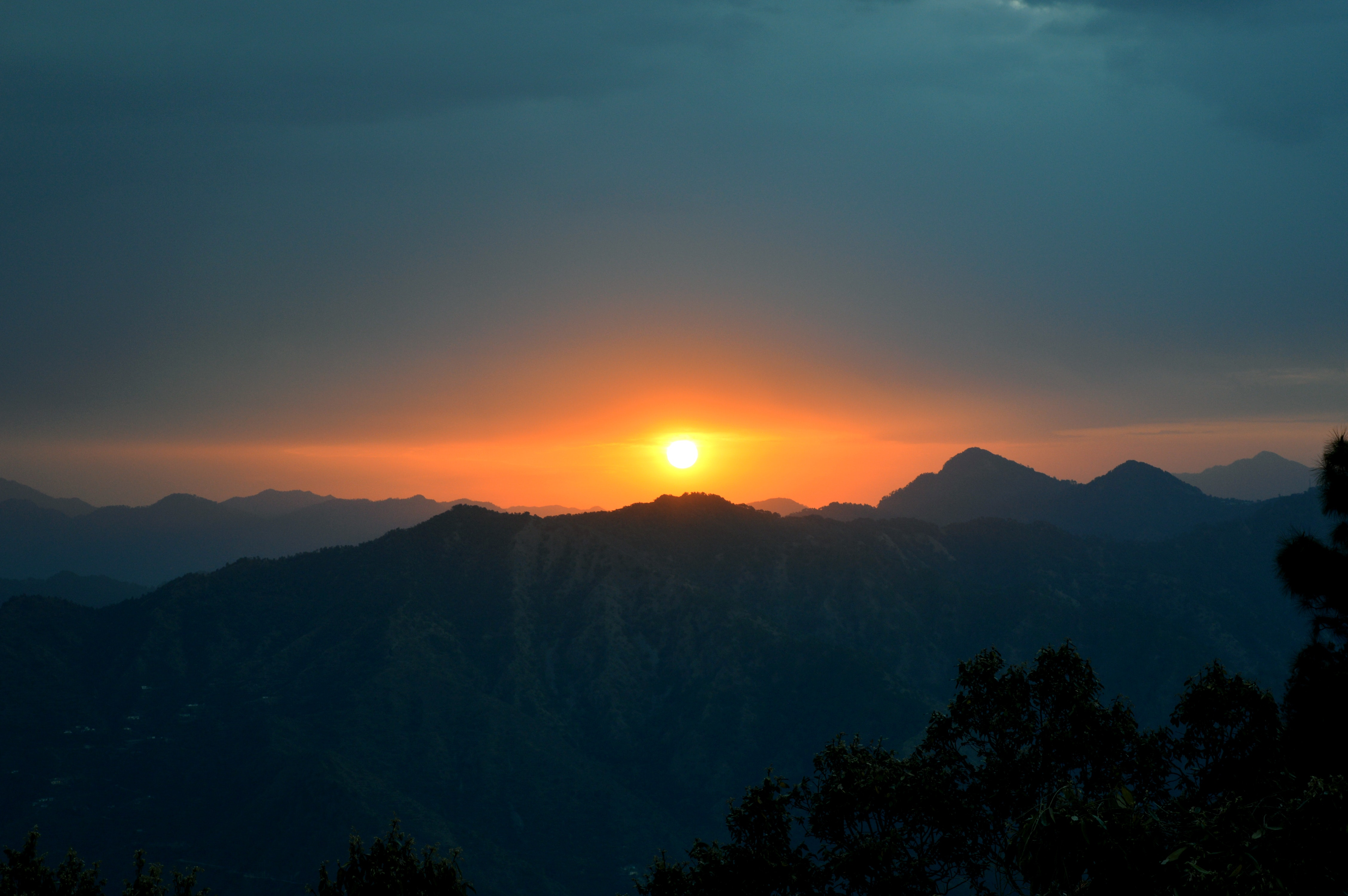 Photo of Mountain during Sunset, Dawn, Outdoors, Travel, Tranquil, HQ Photo