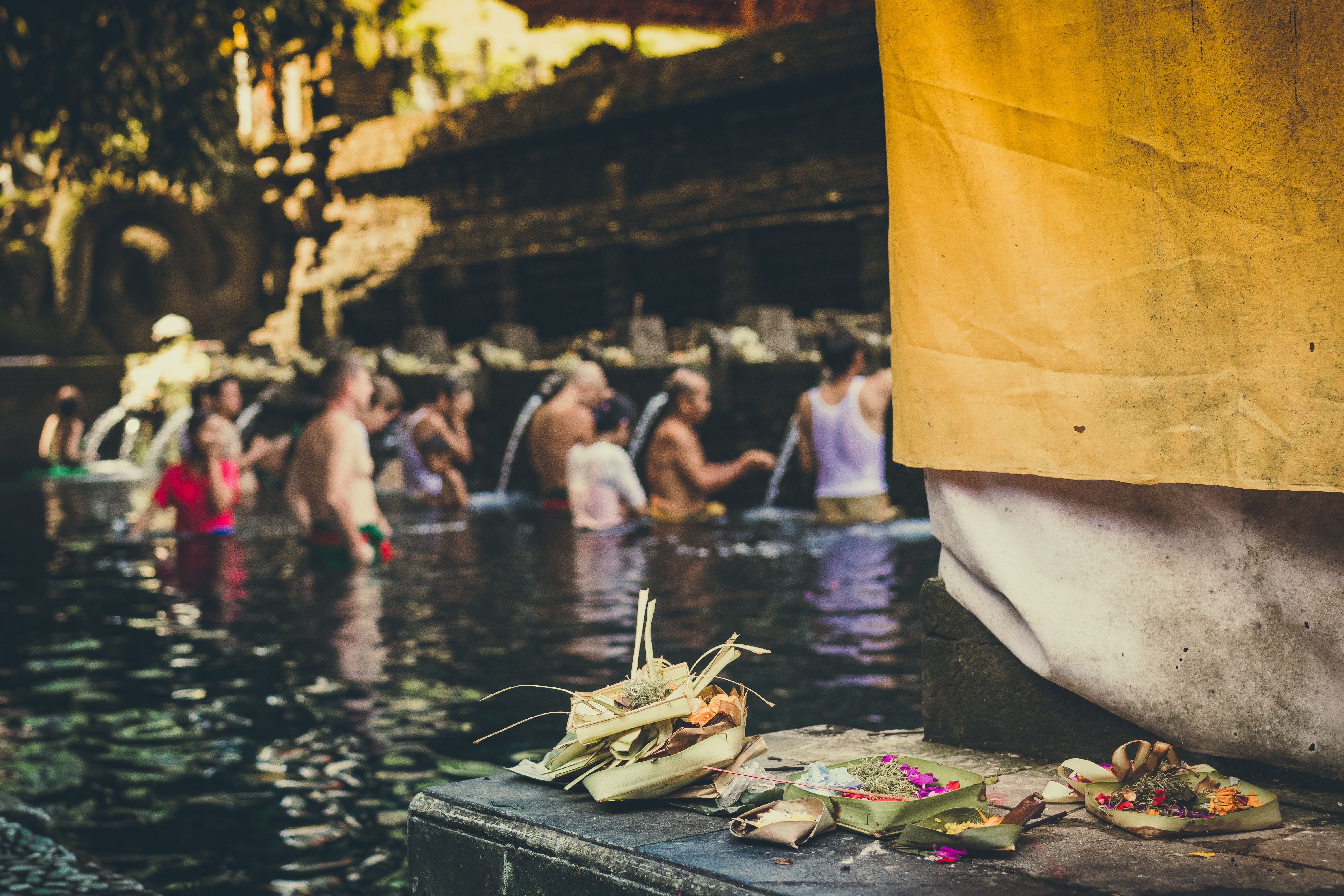 Photo of People in the Body of Water Taking a Bath, Adult, Pray, Prayer, Purification, HQ Photo