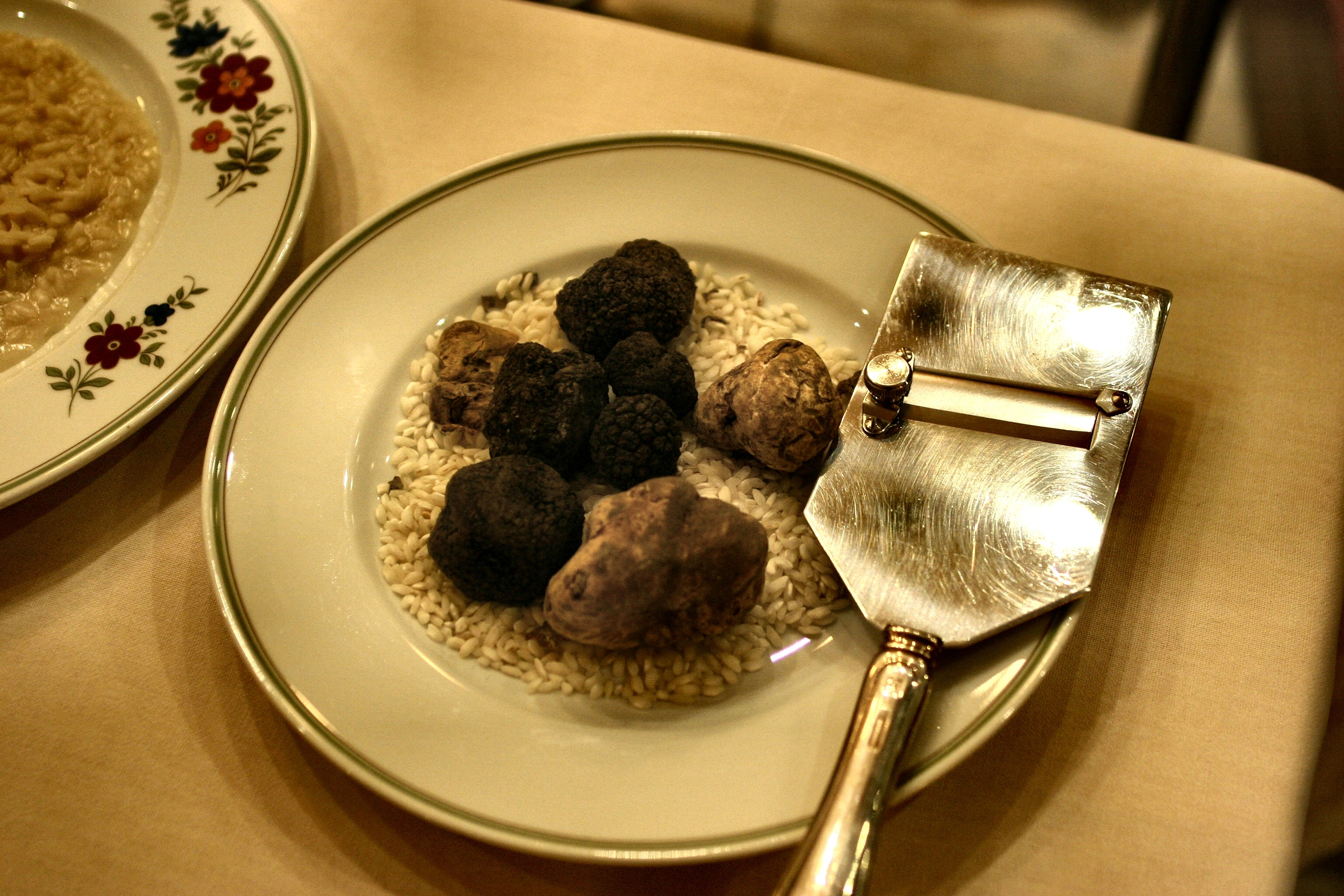 Photo of Truffles on the Plate, Blur, Ingredients, Table, Still life, HQ Photo