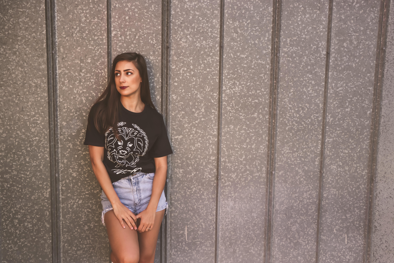 Photo of woman wearing black shirt