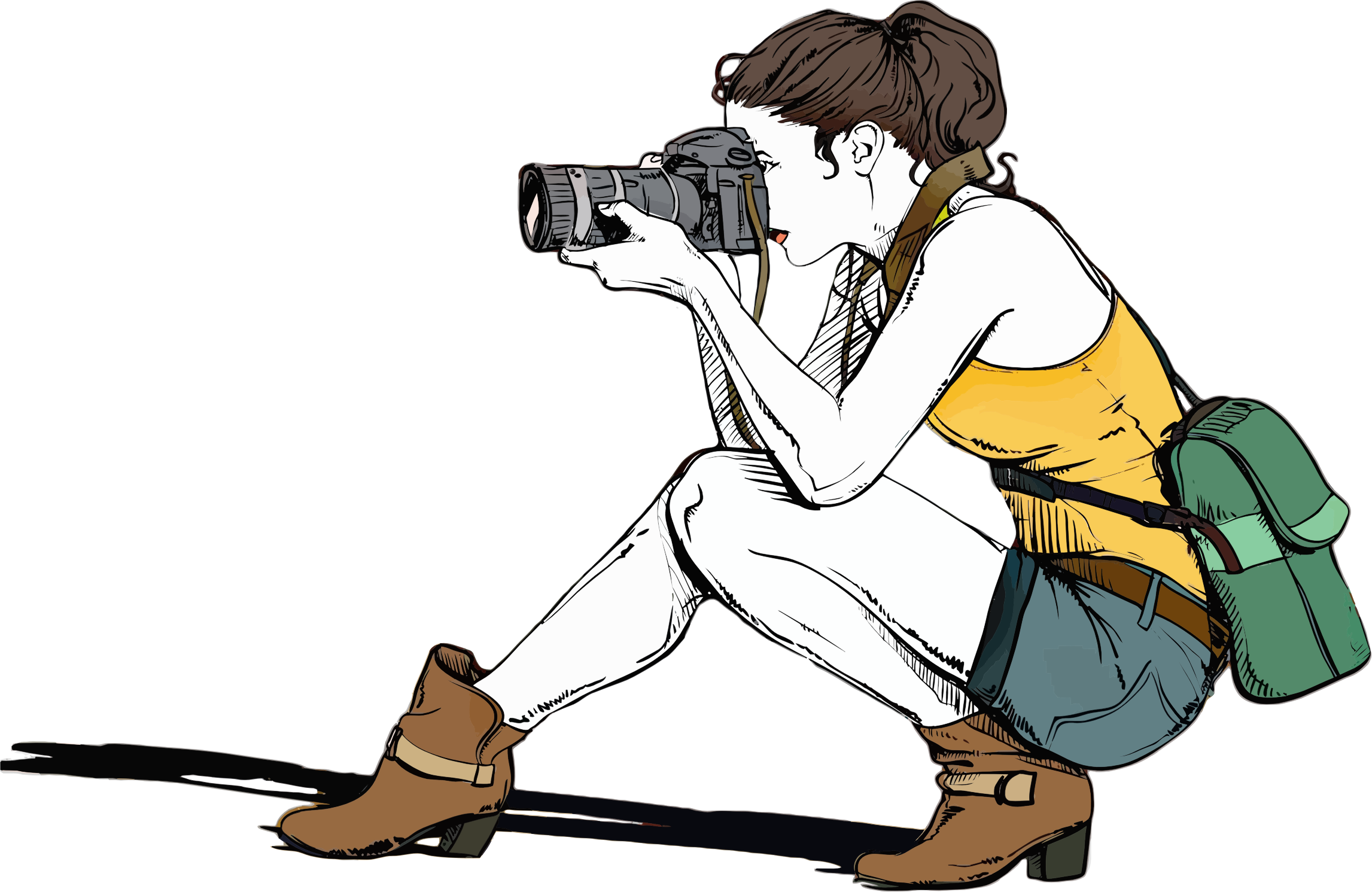 Female Photographer Icons PNG - Free PNG and Icons Downloads