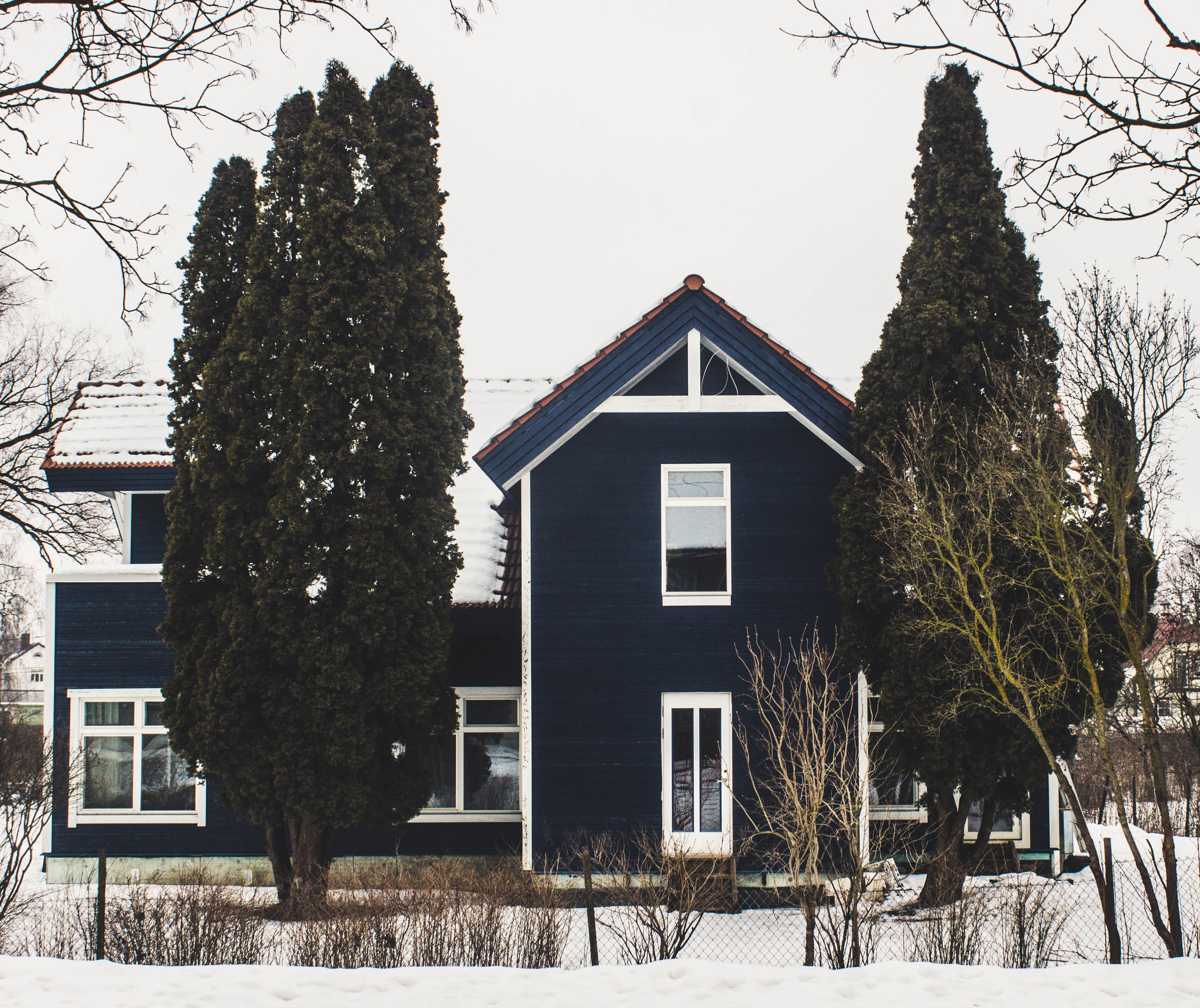 Photography of a House During Winter, Architecture, Outdoors, Winter landscape, Winter, HQ Photo