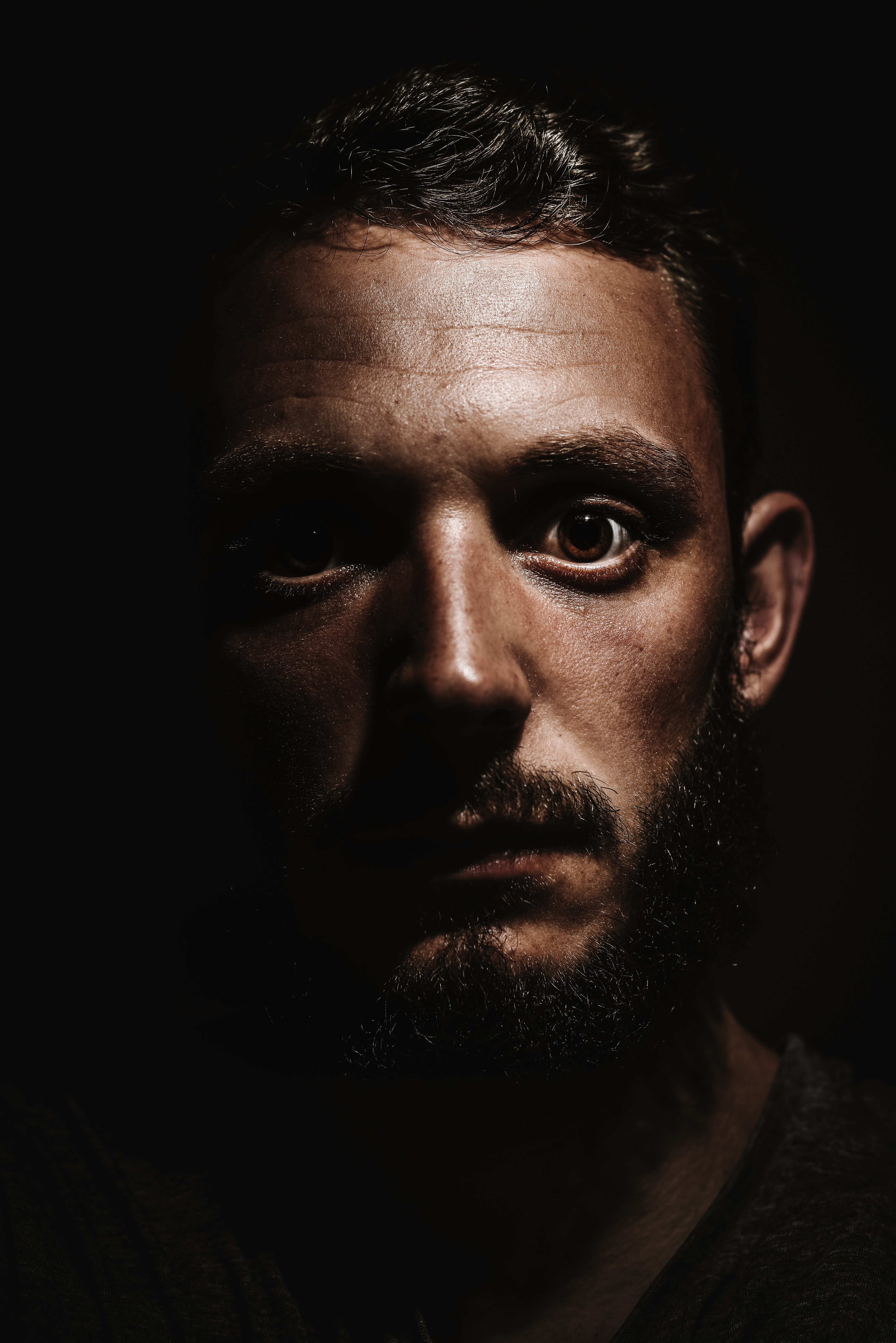 Photography of a person with beard