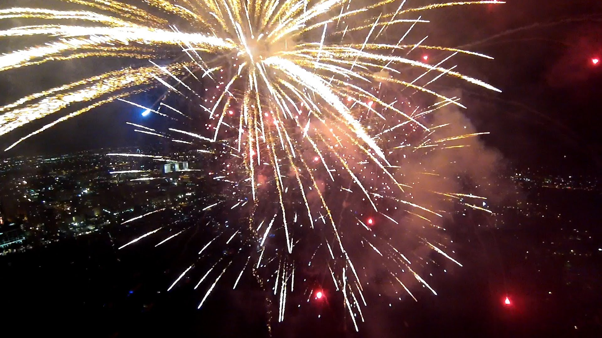 GoPro: Fireworks From A Drone - YouTube