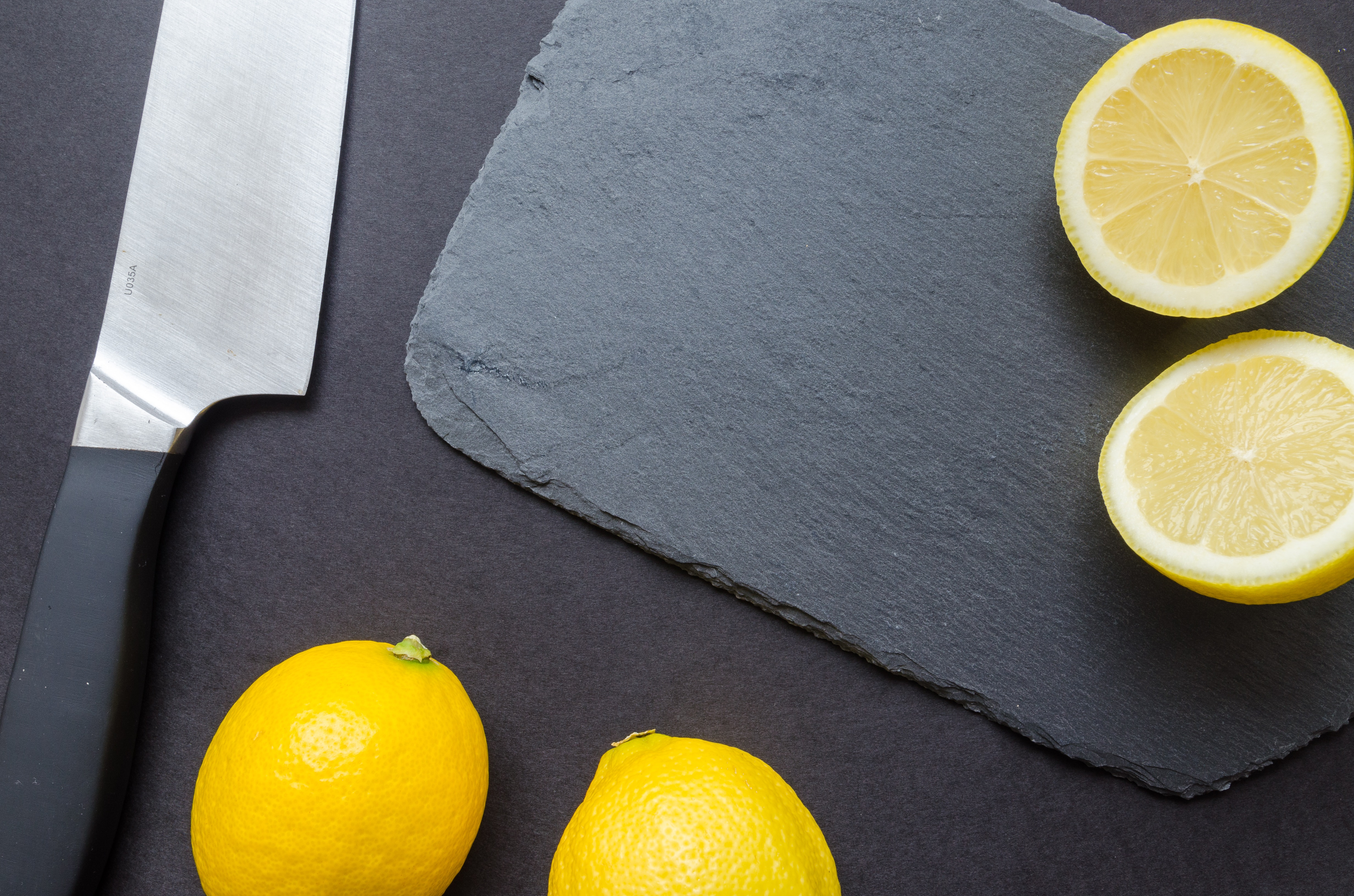Photography of Sliced Lemon Near Kitchen Knife, Blade, Sour, Sliced, Slice, HQ Photo