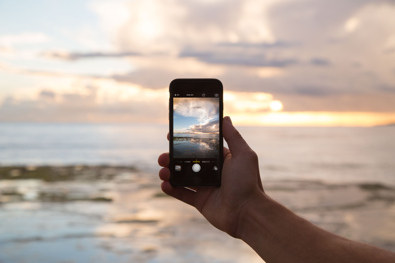 Free Images : iphone, smartphone, hand, beach, sea, coast, sand ...