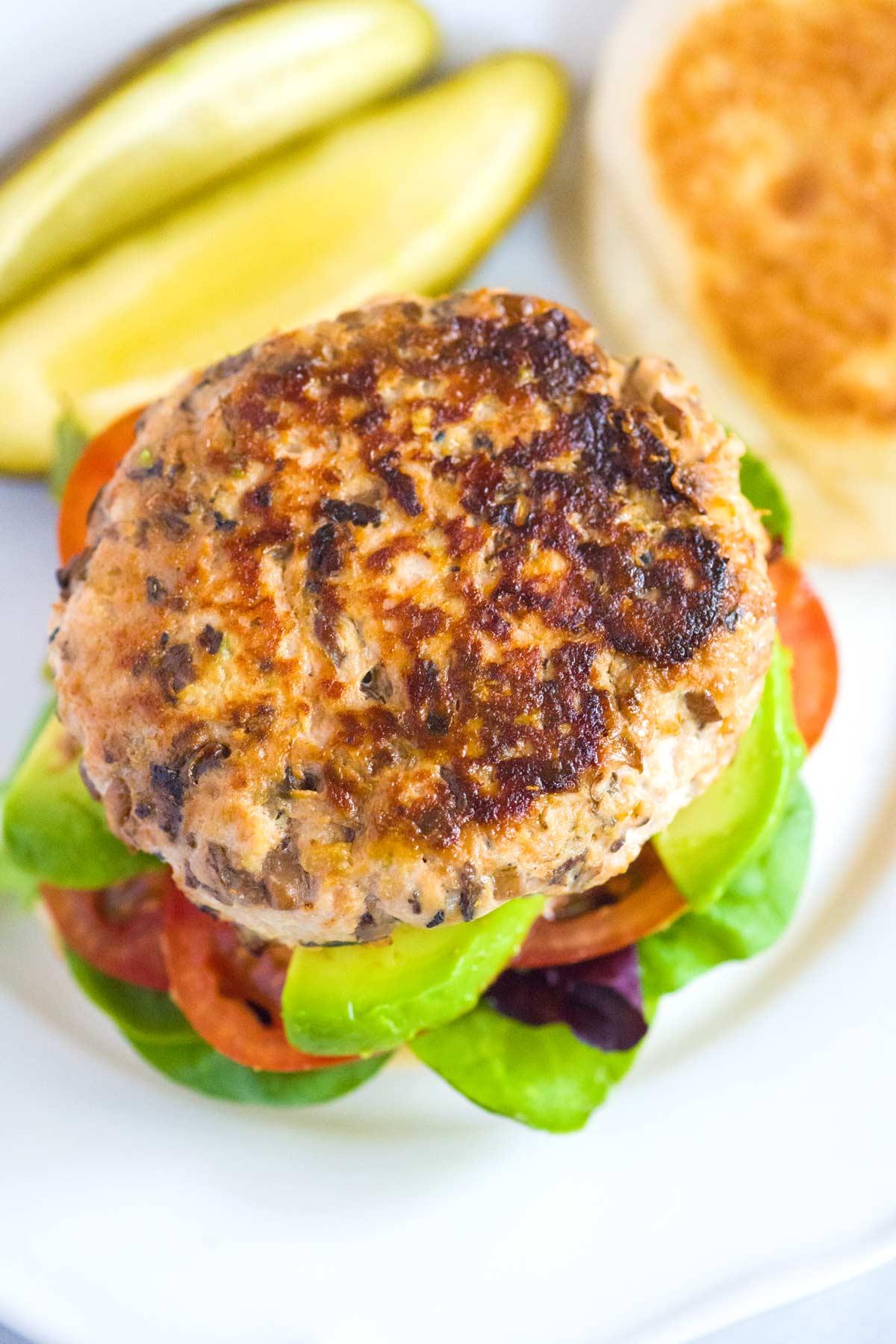 Seriously Good Turkey Burger Recipe