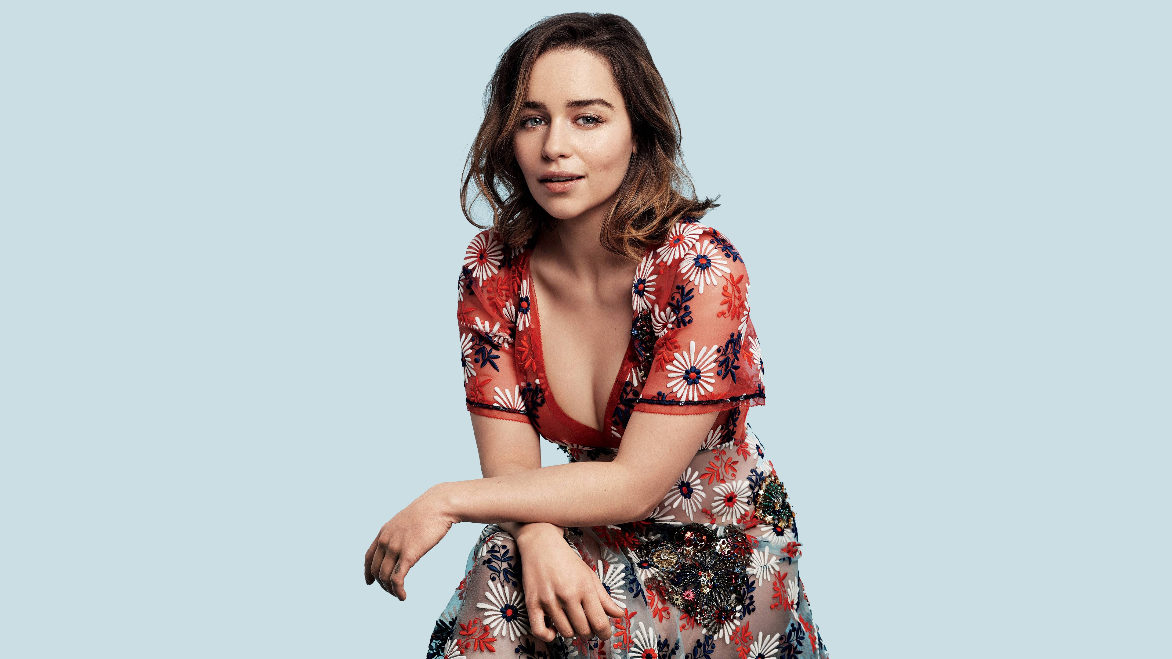 Celebrities Emilia Clarke 4K Photoshoot wallpapers (Desktop, Phone ...
