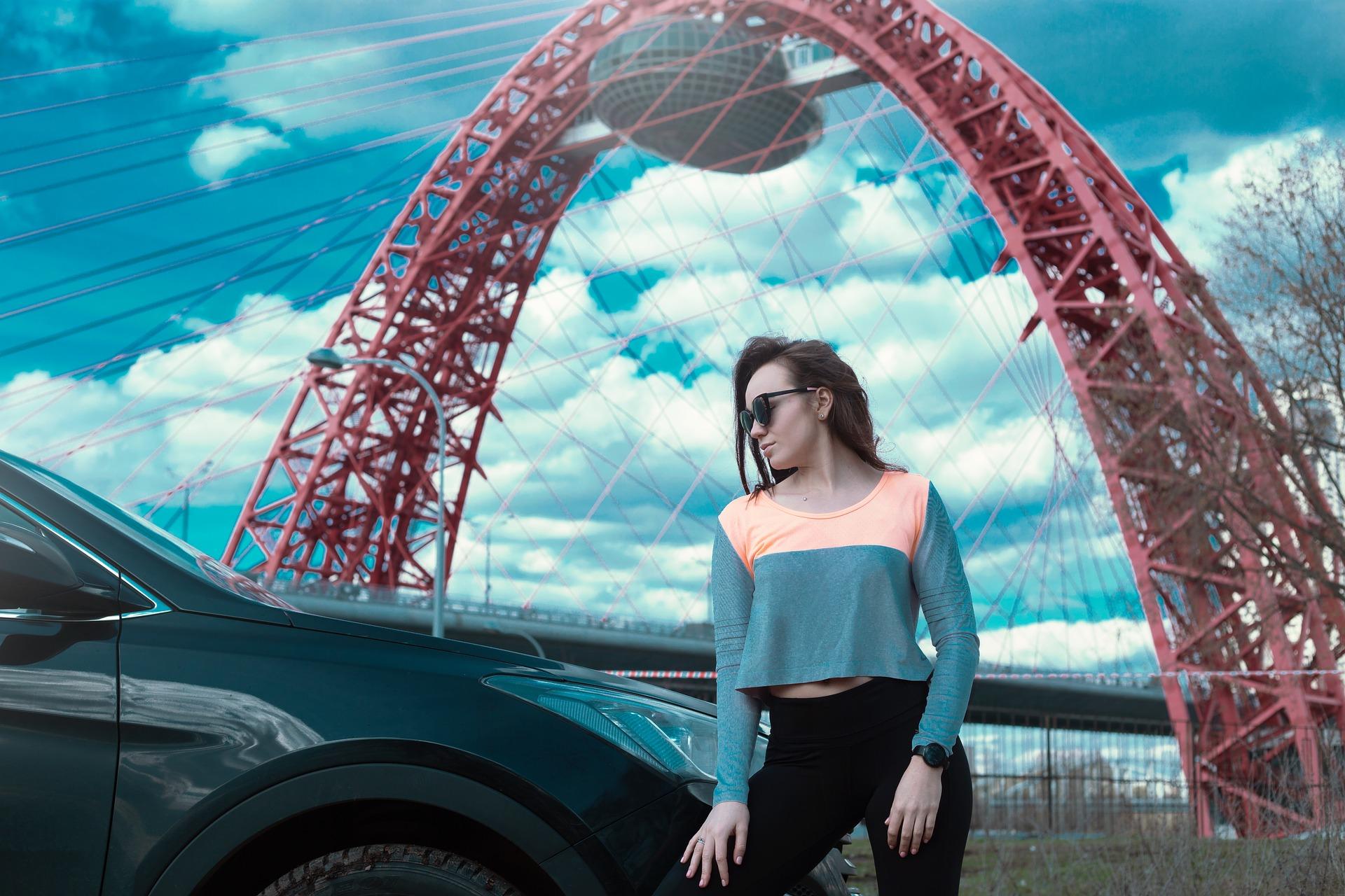 Photoshoot under the bridge
