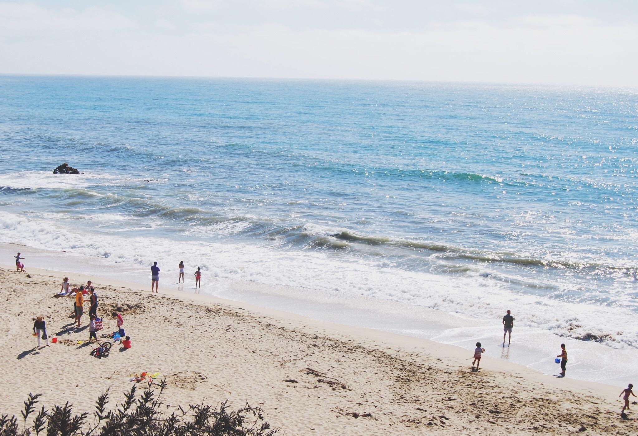Picnic, Activity, Beach, Blue, Plan, HQ Photo