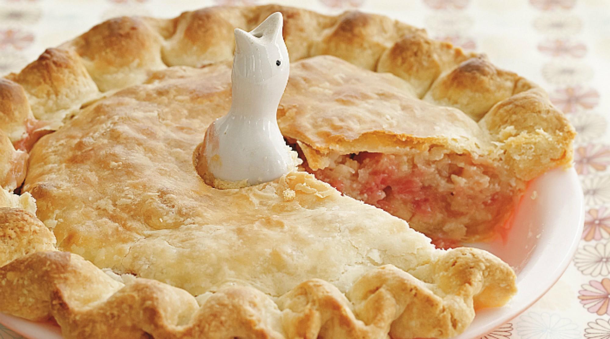 Rhubarb Frangipane Pie | The Splendid Table