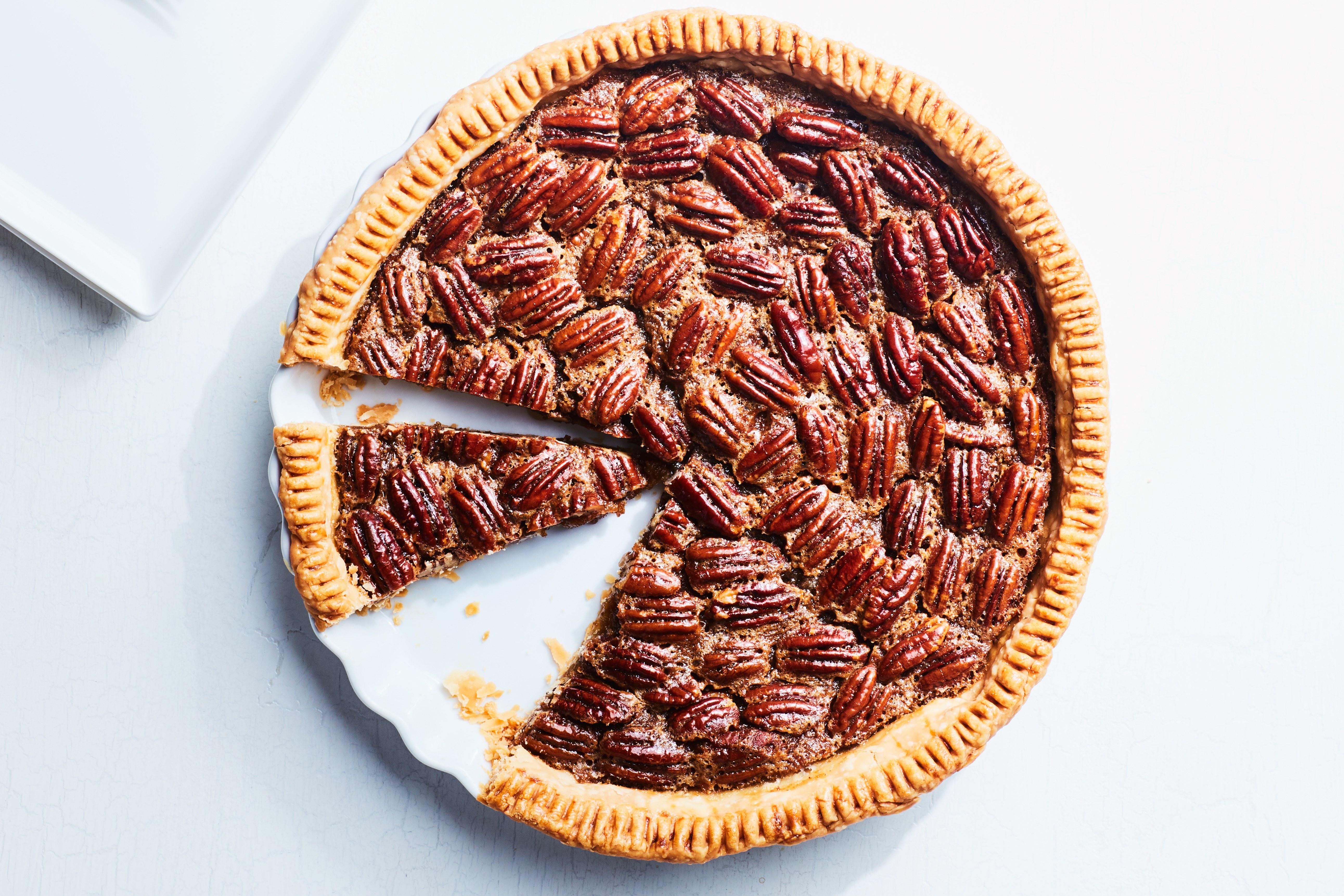 Old-Fashioned Pecan Pie recipe | Epicurious.com