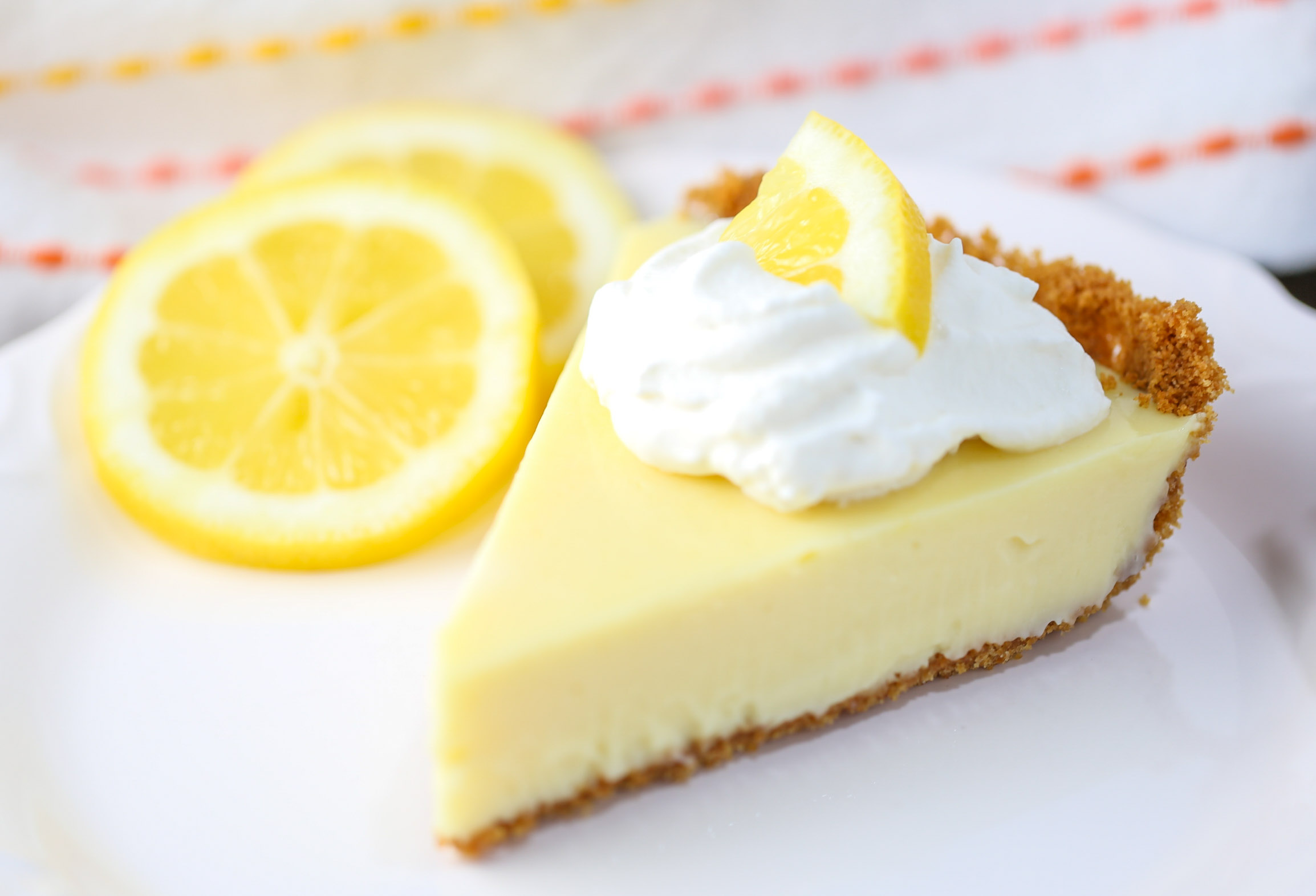 Magnolia Lemon Pie | Tabs & Tidbits