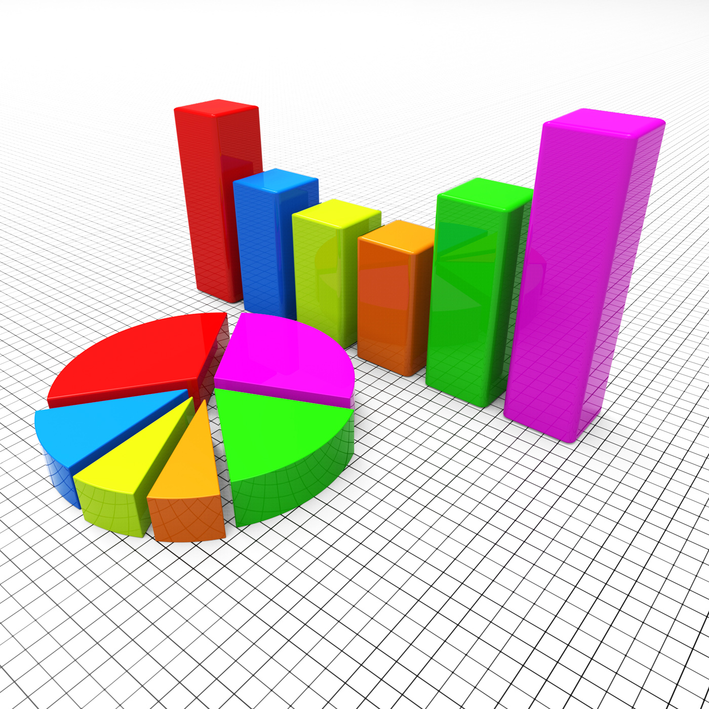 Pie Chart Shows Business Graph And Charting, Businessgraph, Statistics, Statistical, Statistic, HQ Photo