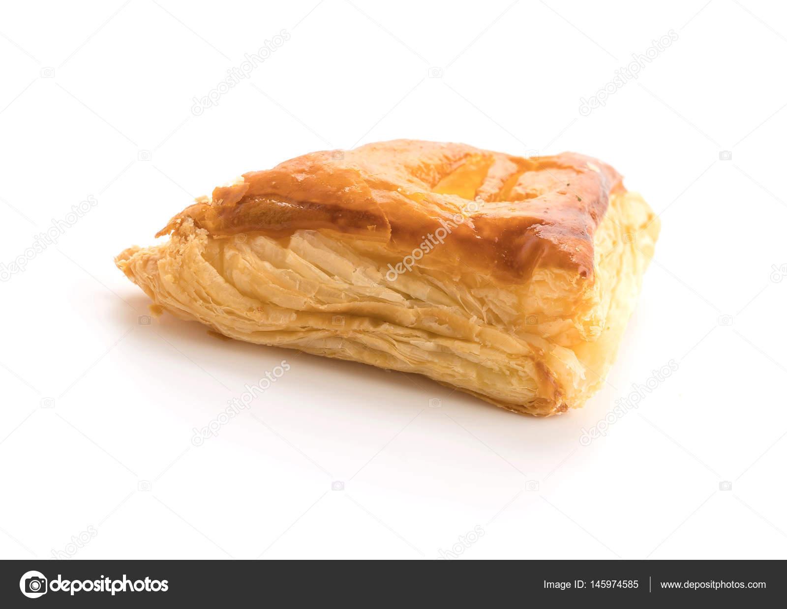 tuna pie on white background — Stock Photo © topntp #145974585