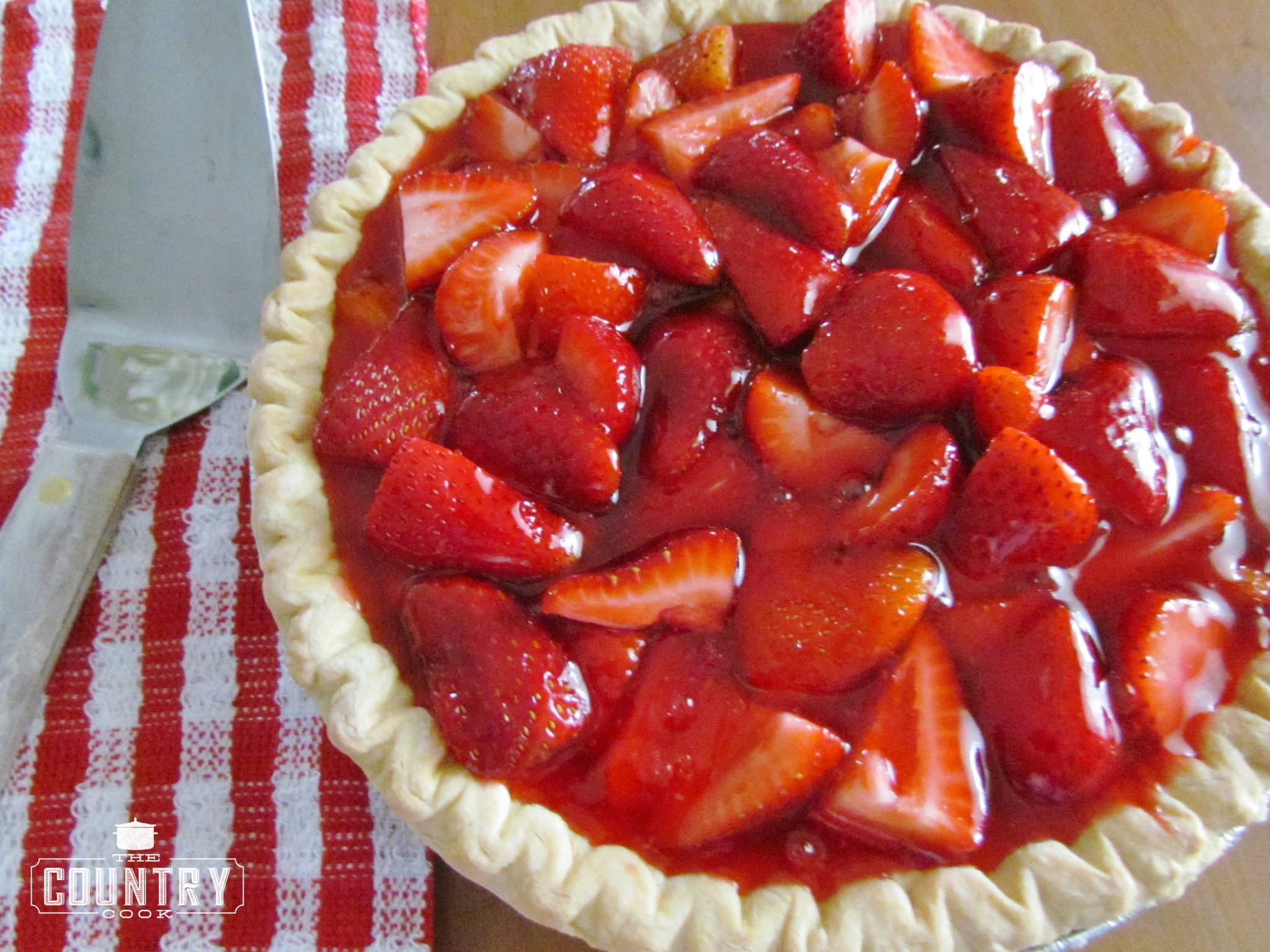 Shoney's Strawberry Pie - The Country Cook