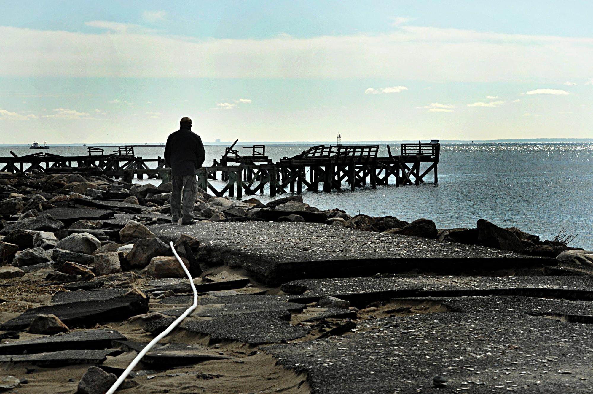 Pier in norwalk photo