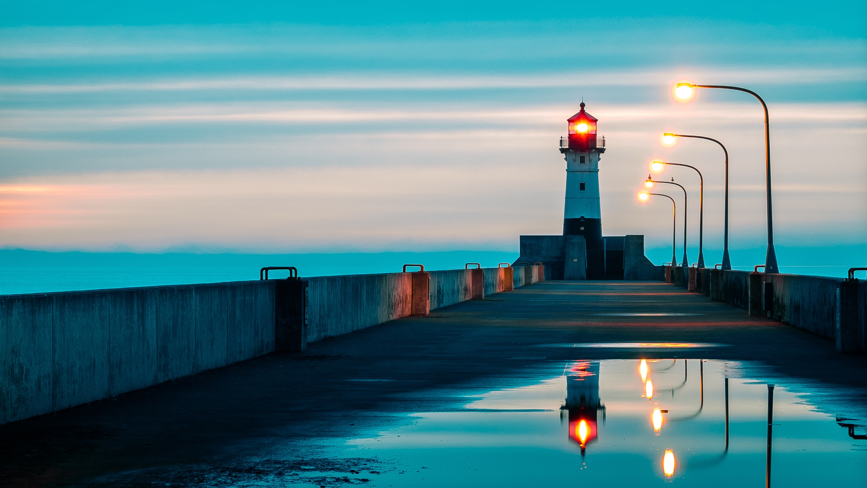 North Pier Lighthouse - Duluth - Album on Imgur