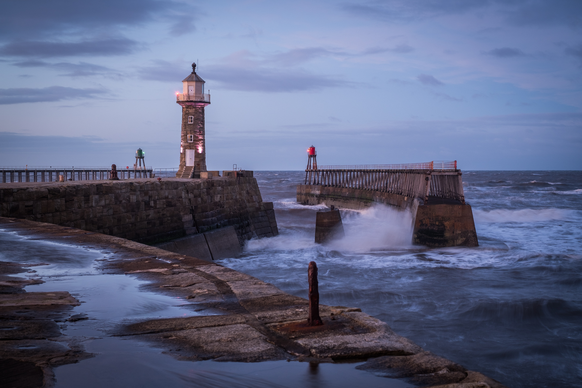 Standing Proud - East Pier Lighthouse 2017 - Whitby Photography