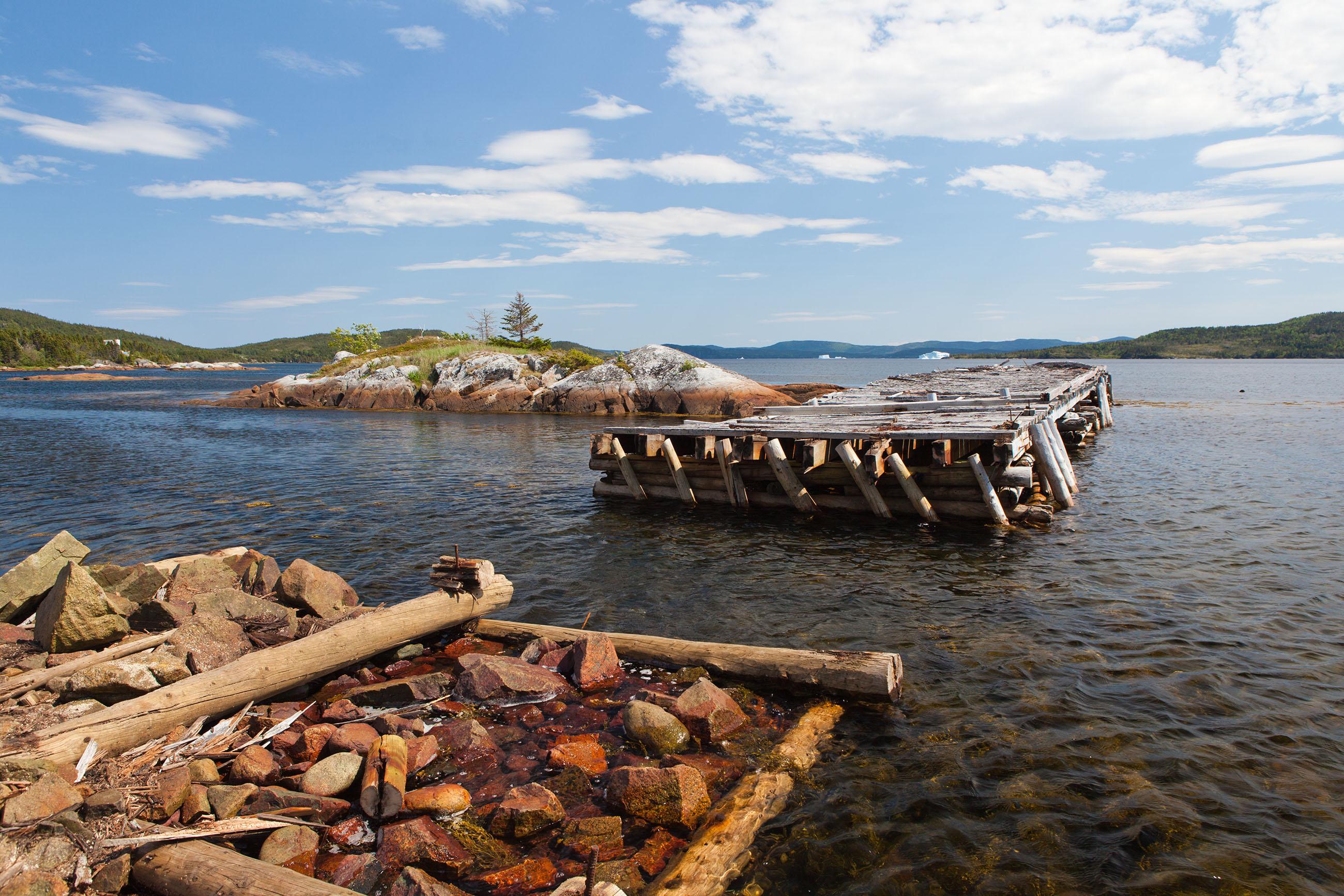 Pier, Sea, Point, Poles, Remains, HQ Photo