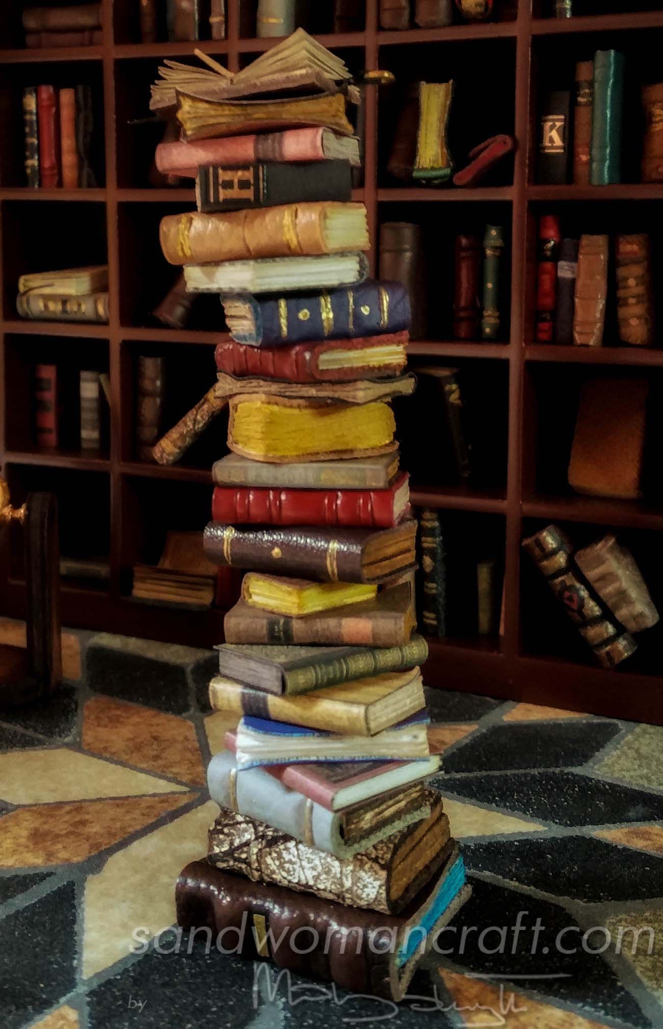 Stack of books photo