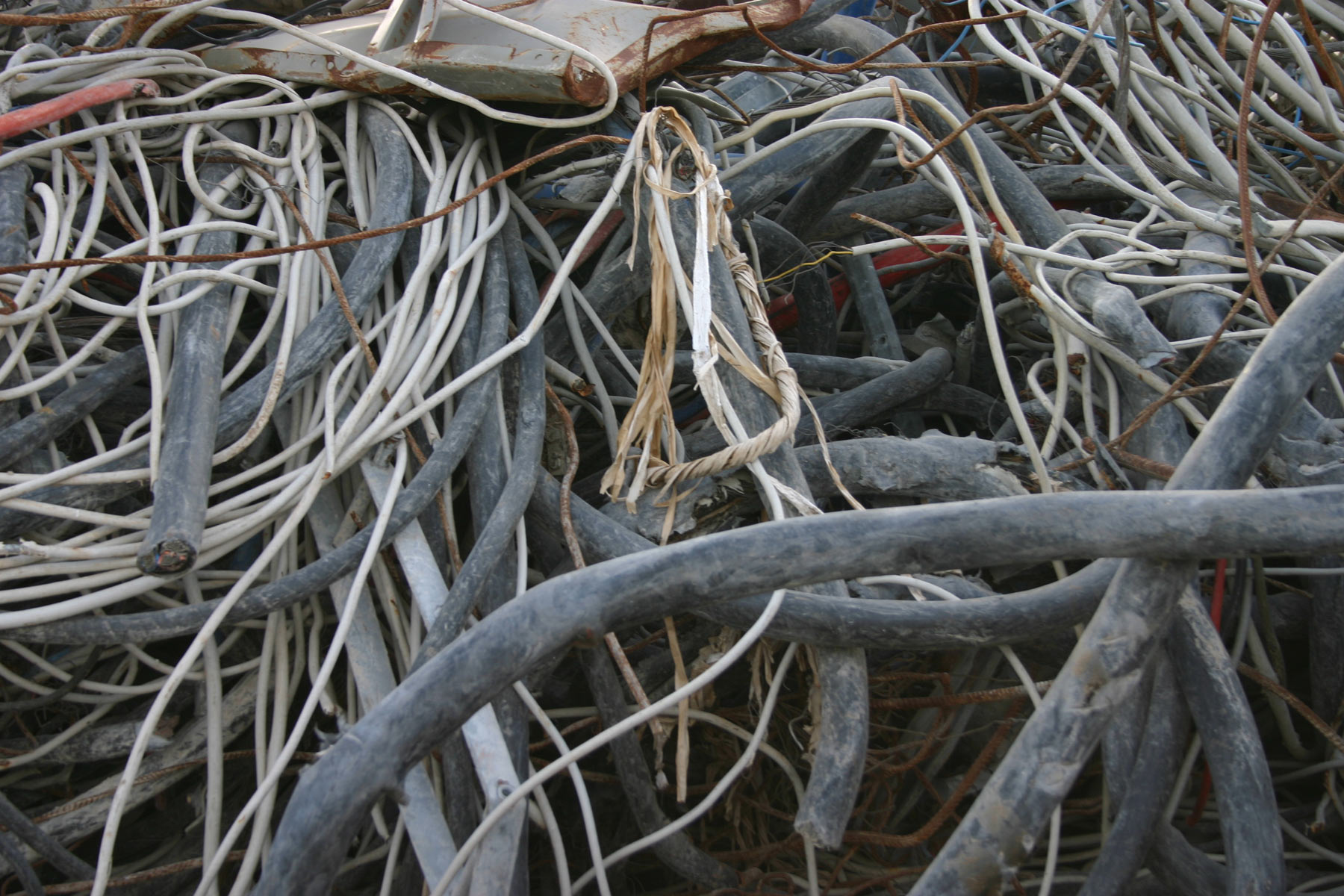 Pile of cables photo