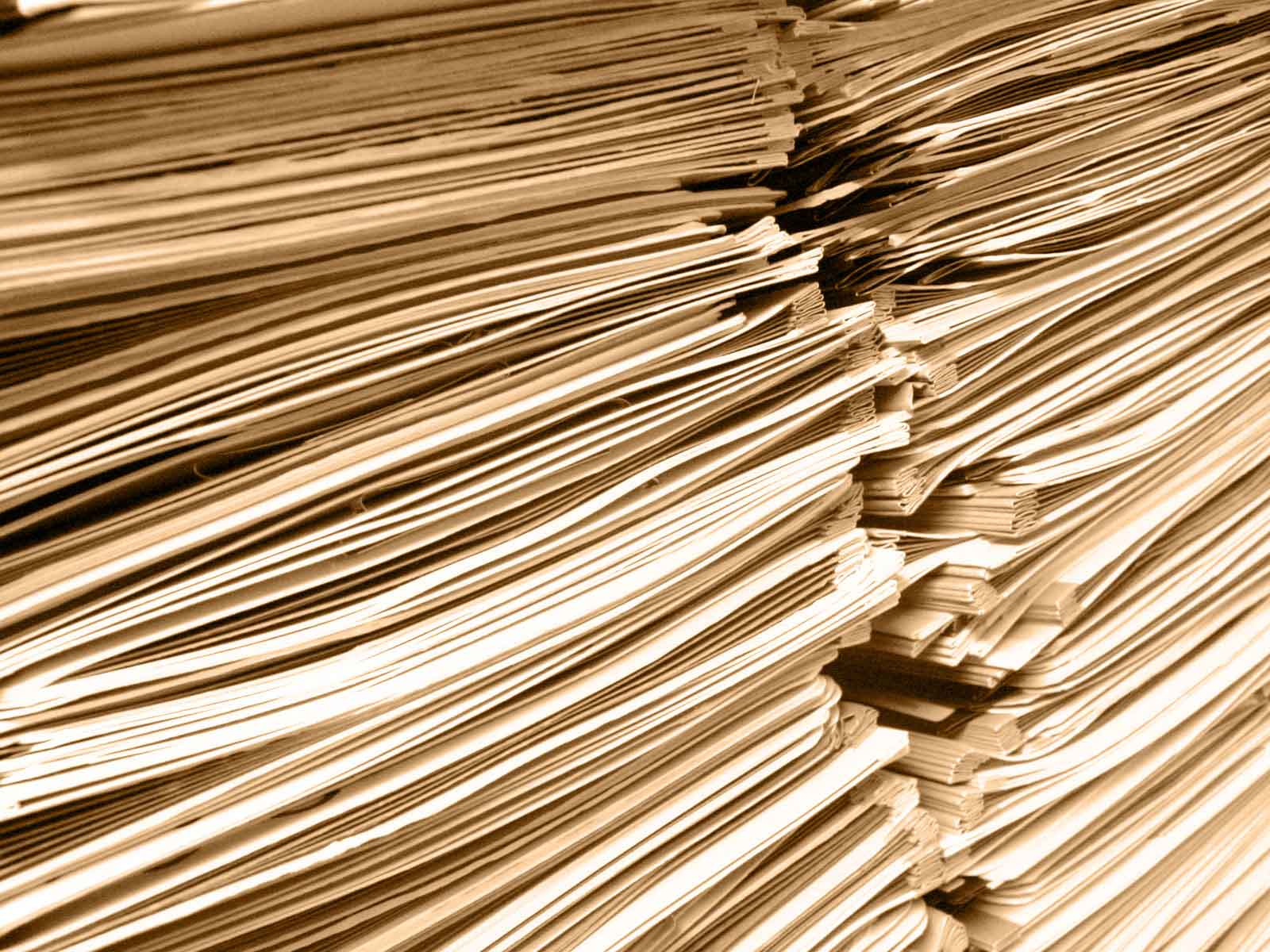 pile of sheets of paper - RECEPTOR - your web doctors