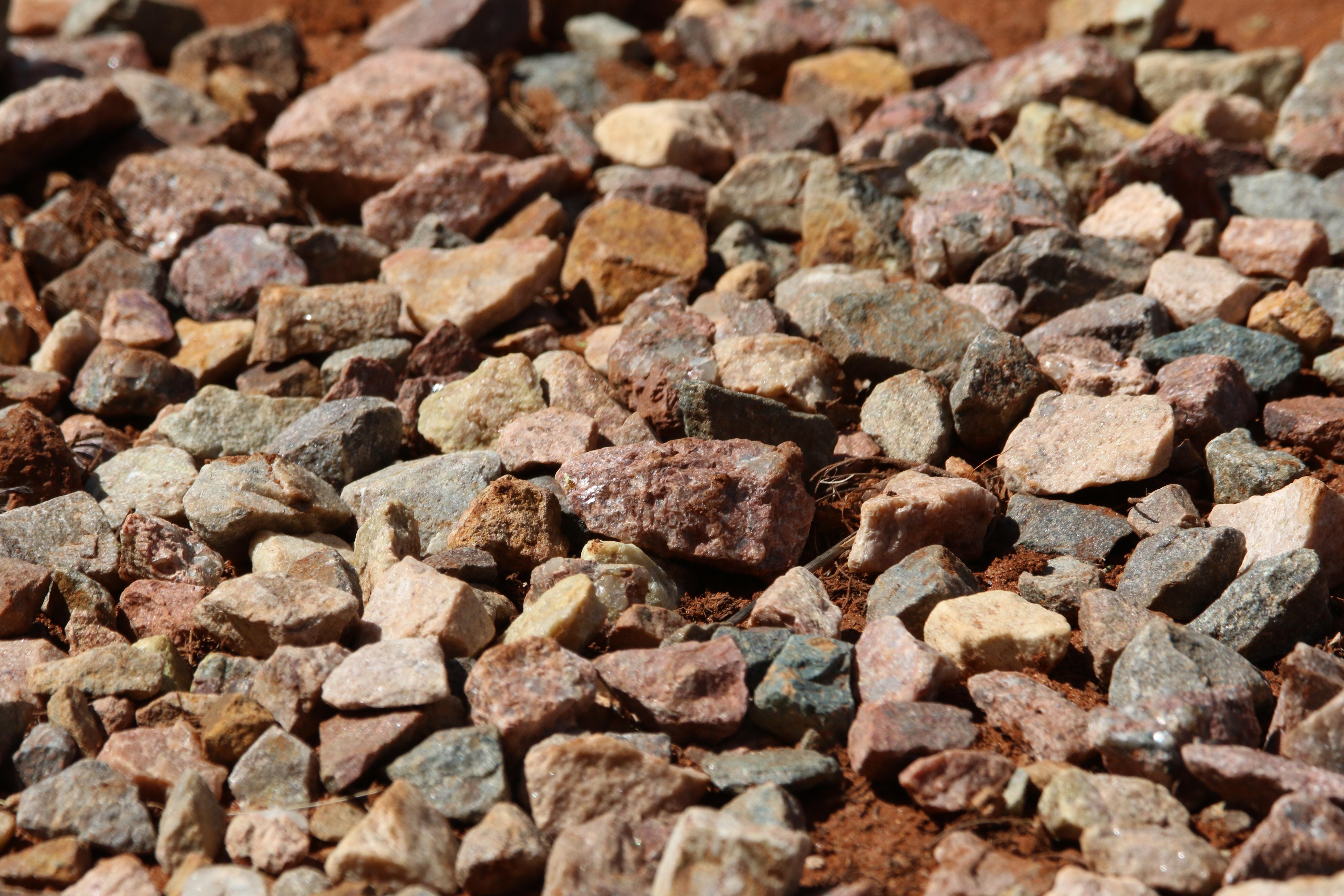 Pile of rocks photo