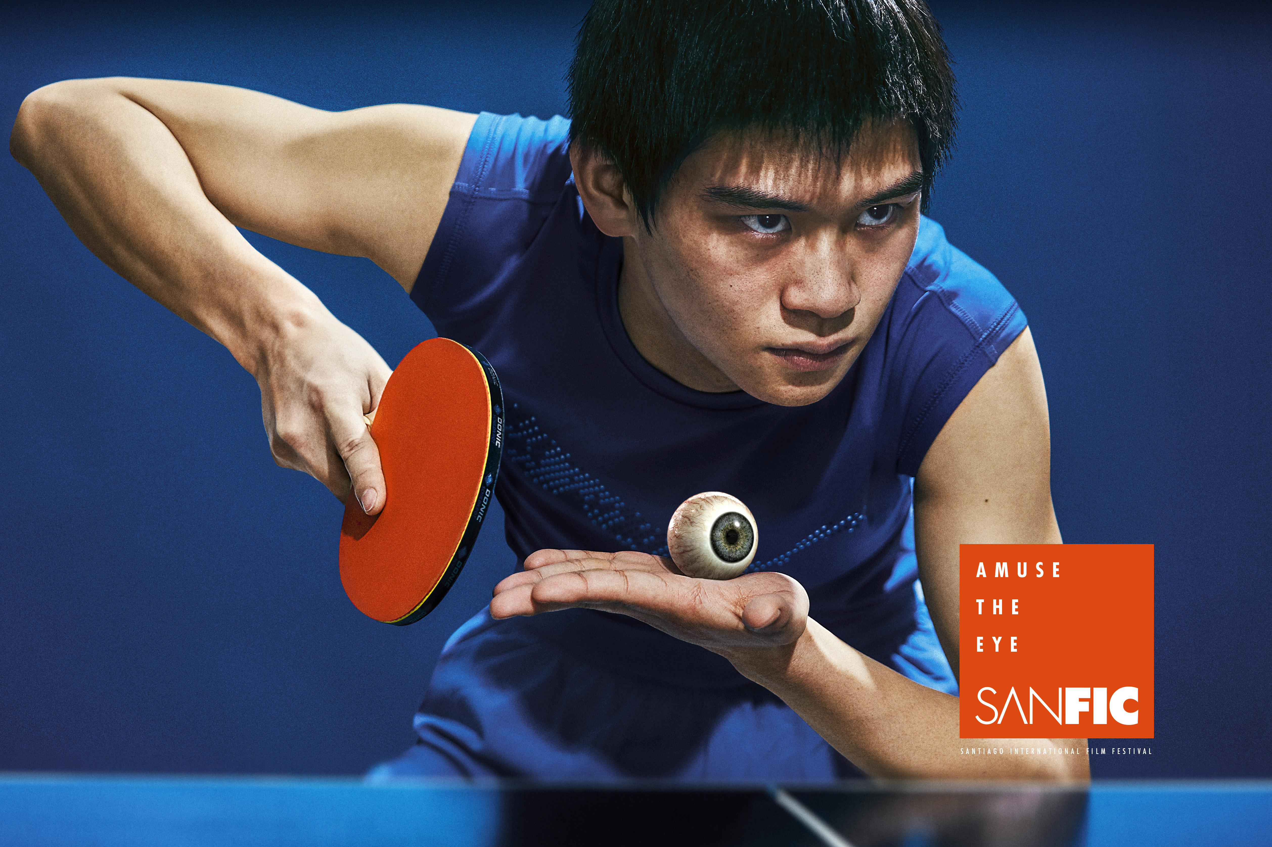 Sanfic Print Advert By WOLF.BPP: Ping Pong | Ads of the World™