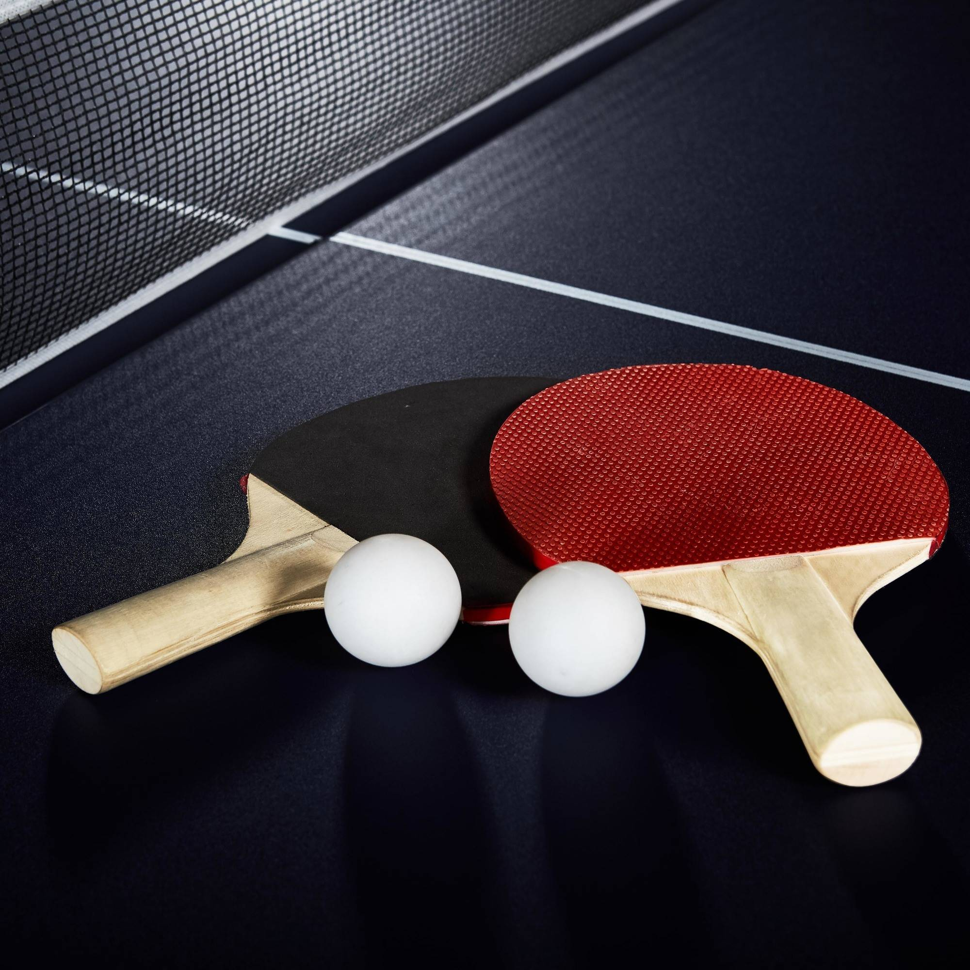 MD Sports Official Size Table Tennis Table, with Paddle and Balls ...
