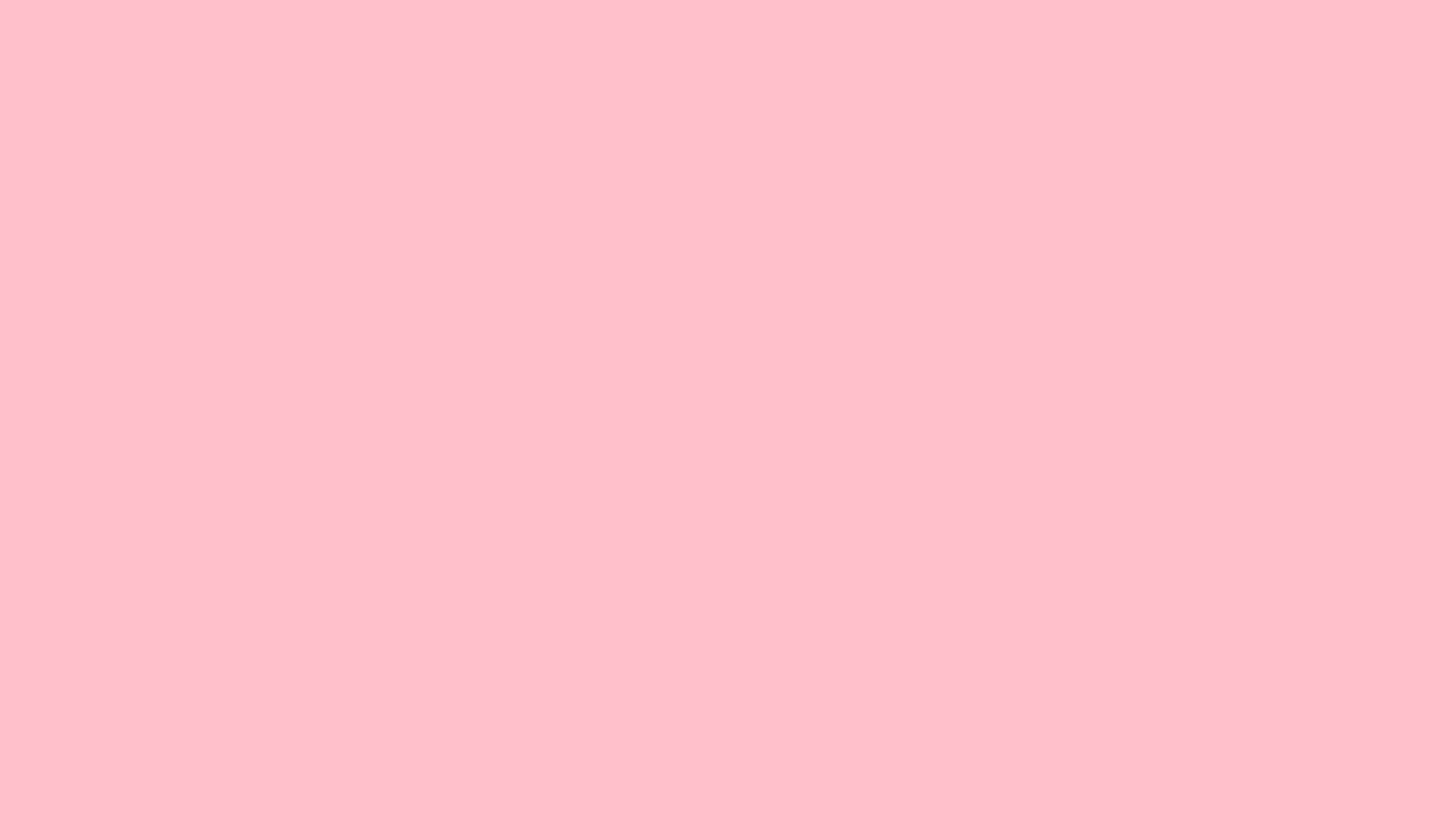 2560x1440 Pink Solid Color Background