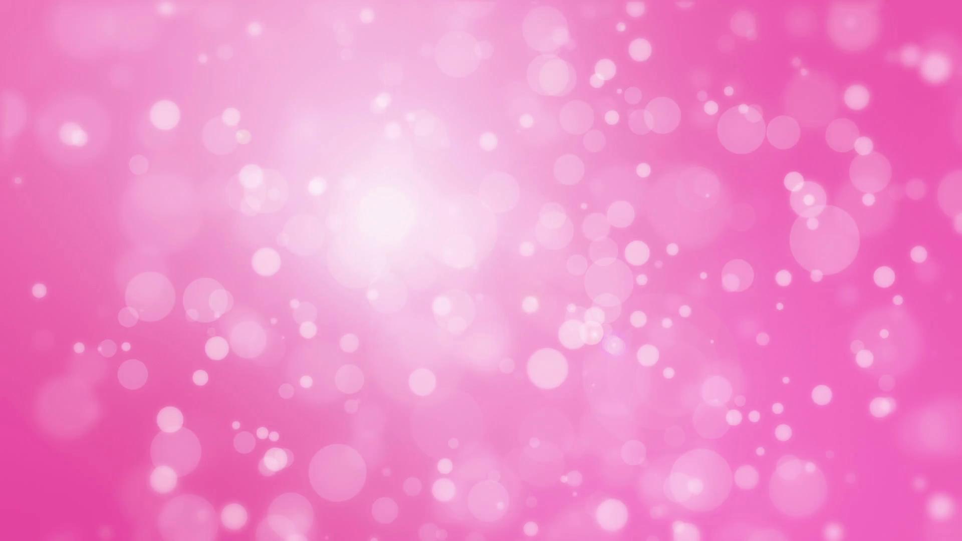 Pink bokeh photo