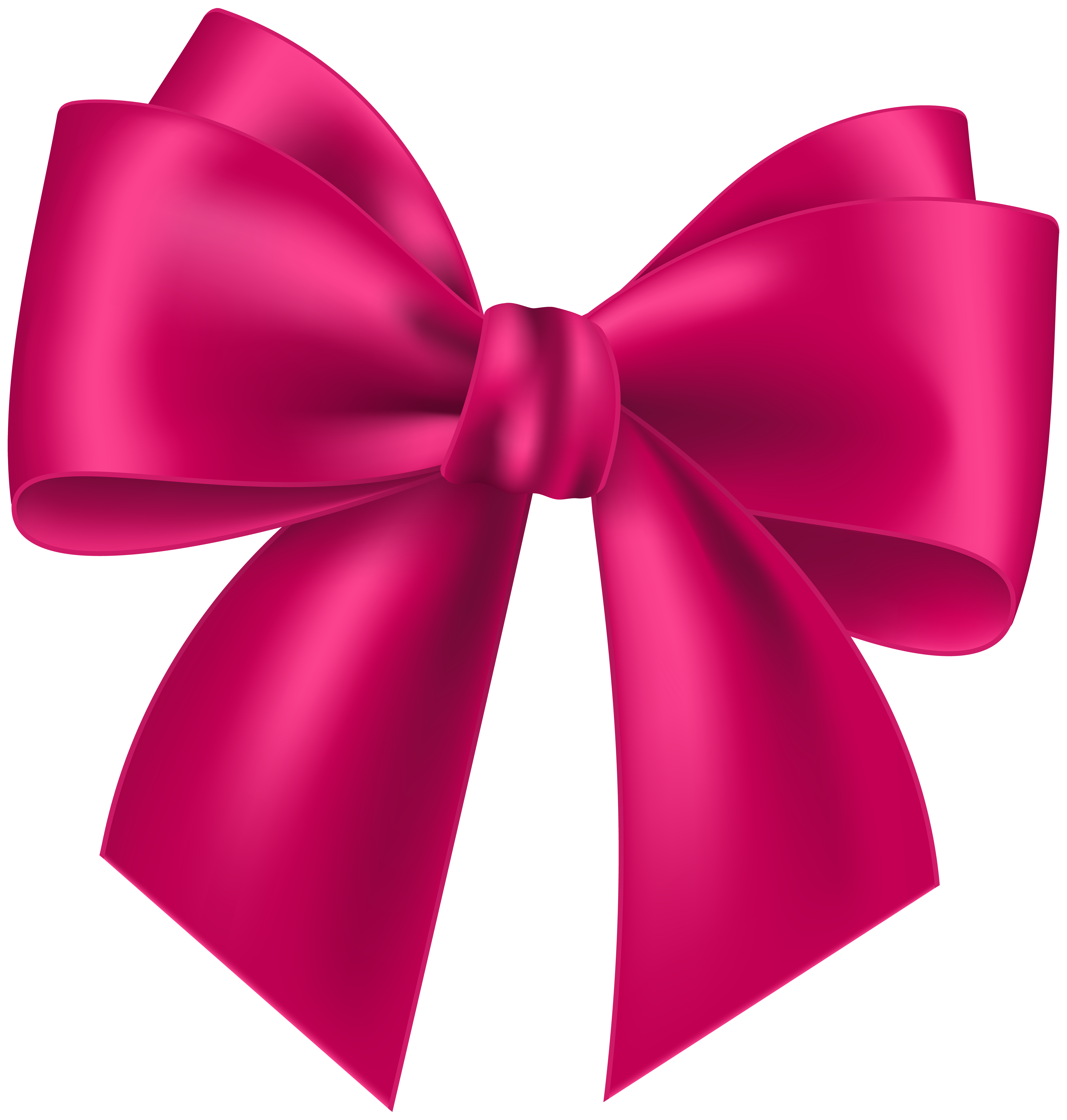 Pink Bow Transparent Clip Art Image | Gallery Yopriceville - High ...