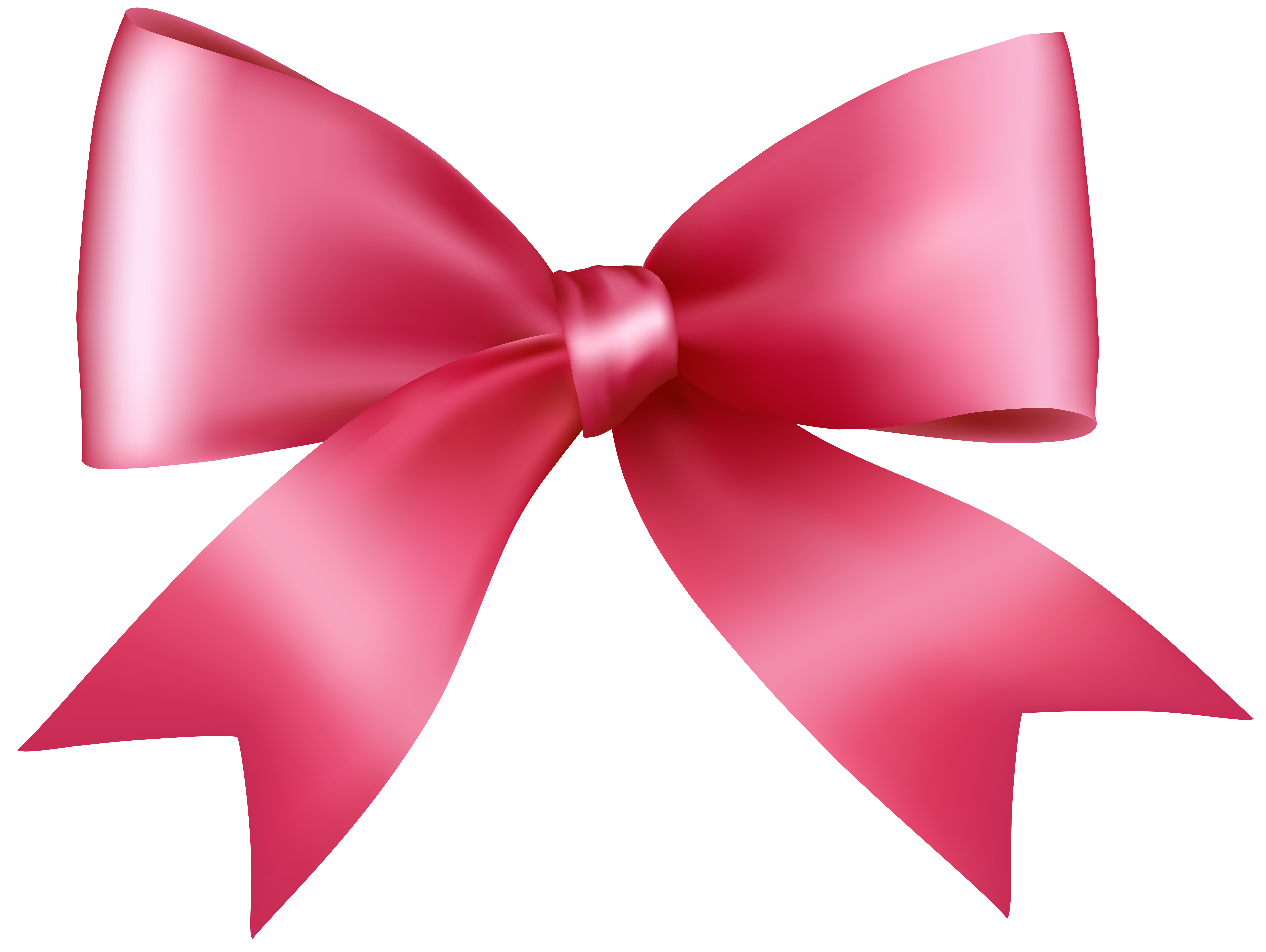 Pink Bow Transparent PNG Clip Art Image | Gallery Yopriceville ...