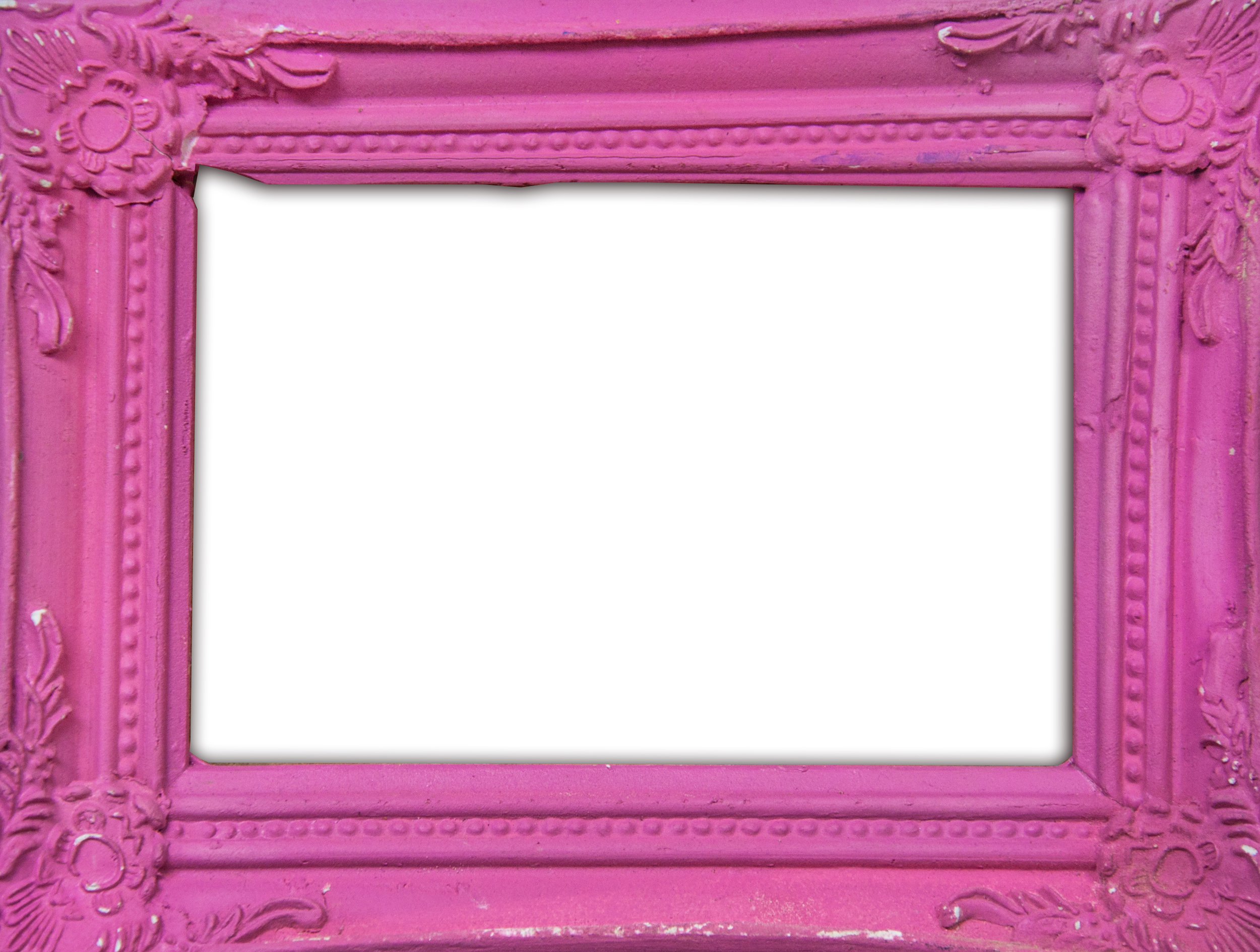 Pink classic photo frame