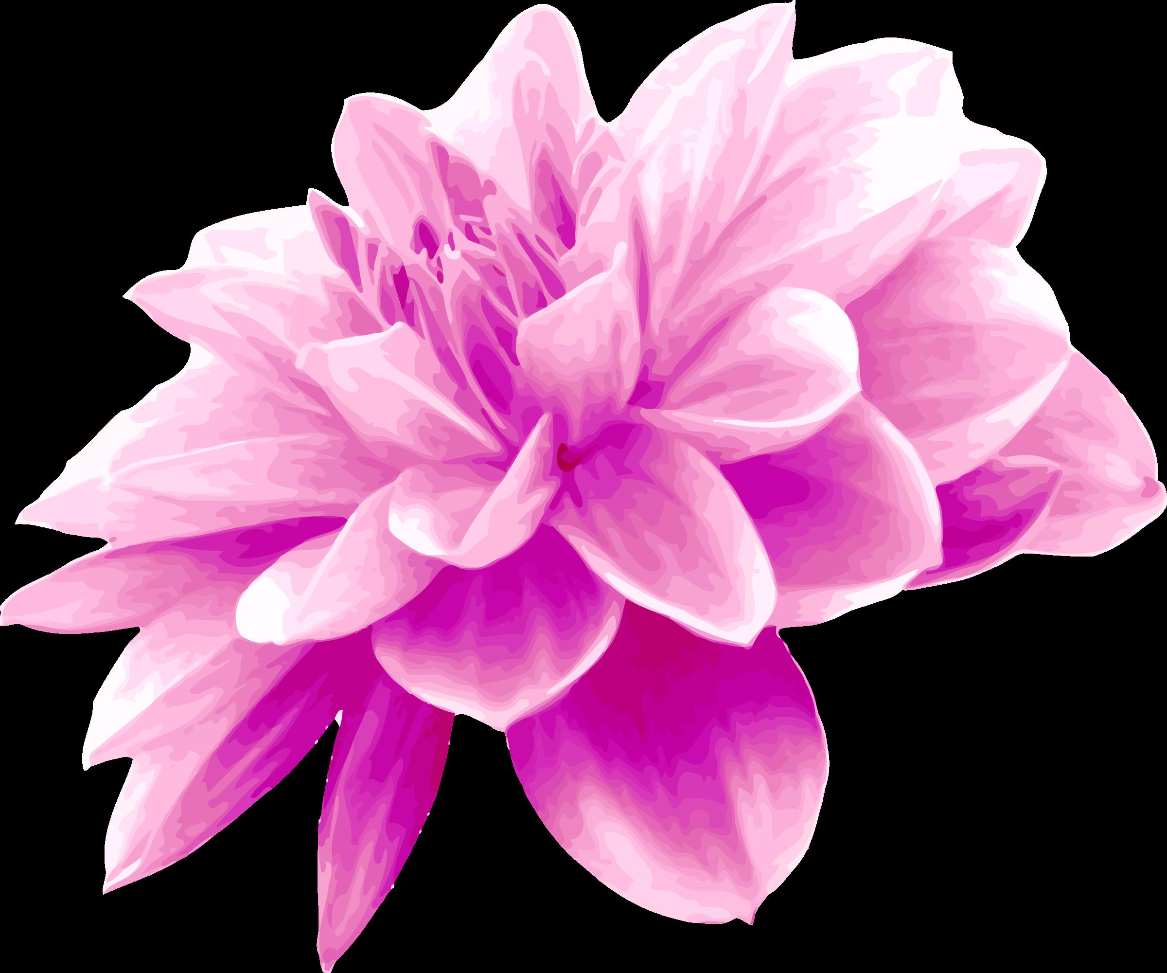 Clipart - Pink flower
