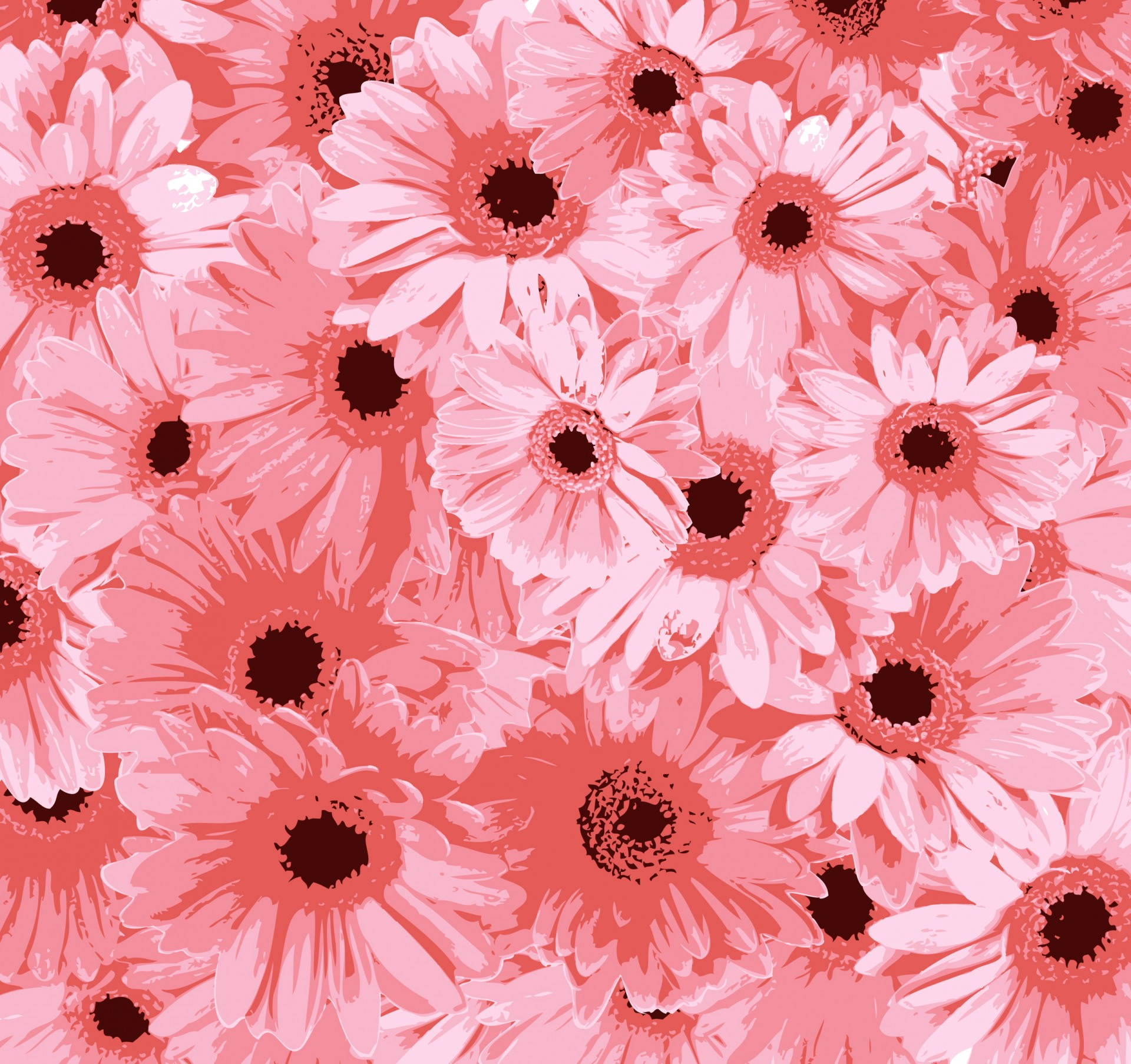 Free photo pink flowers pink red park free download jooinn - Floral background ...