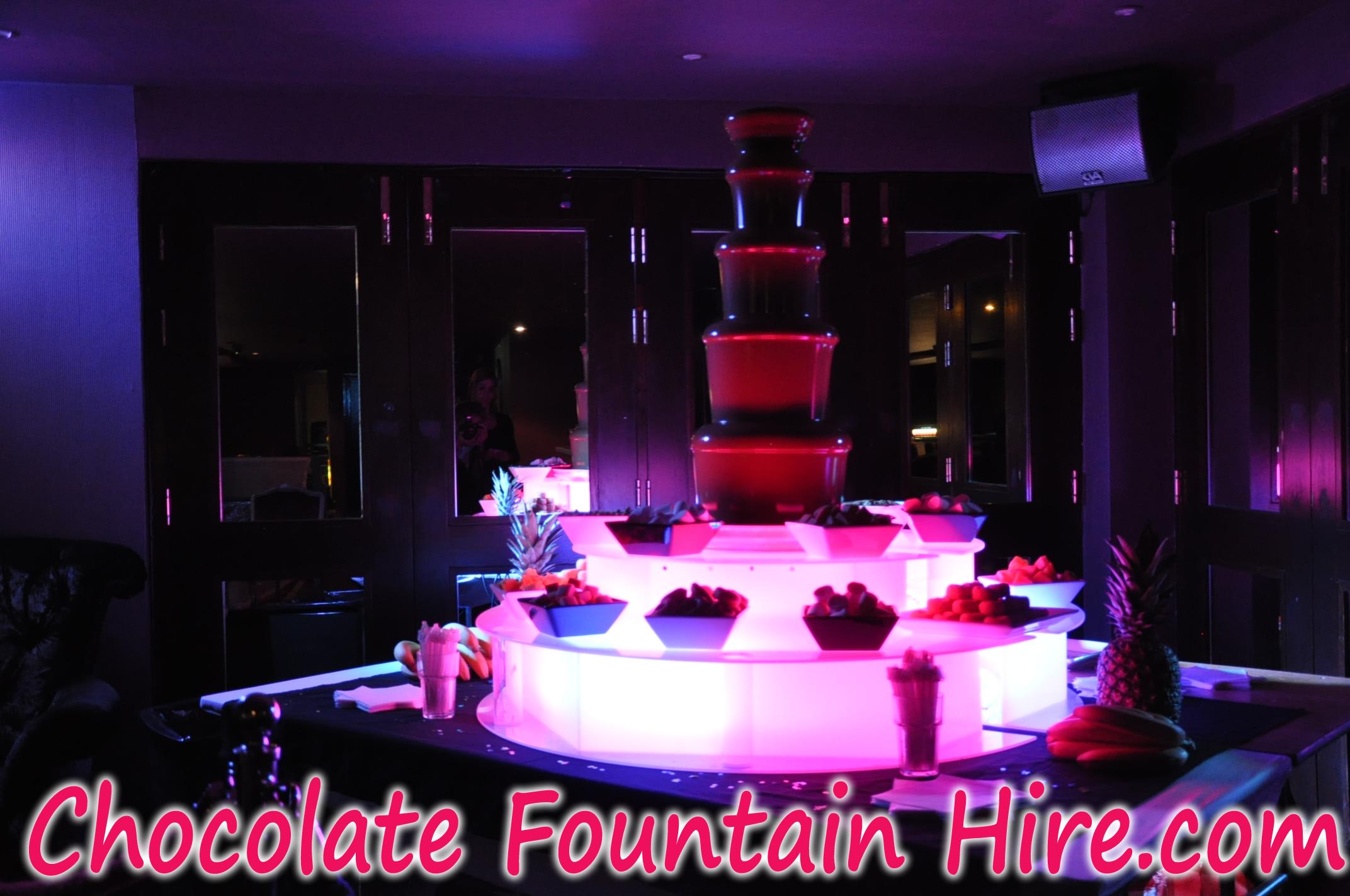 Chocolate Fountain Hire Southampton : Chocolate Fountain Hire