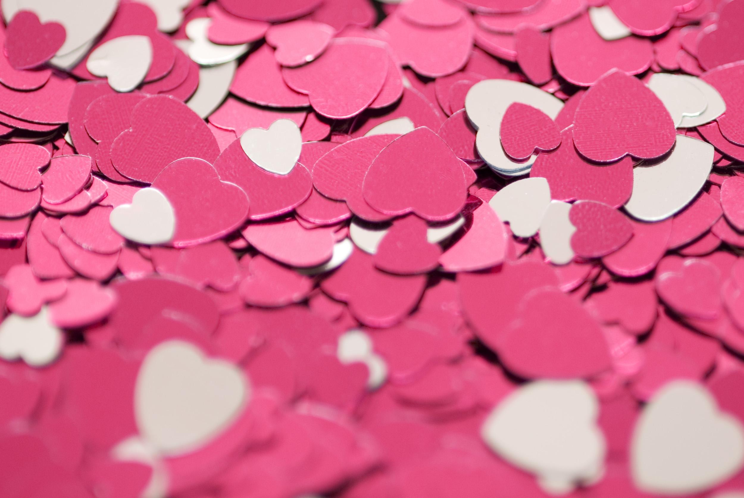 Pink love photo