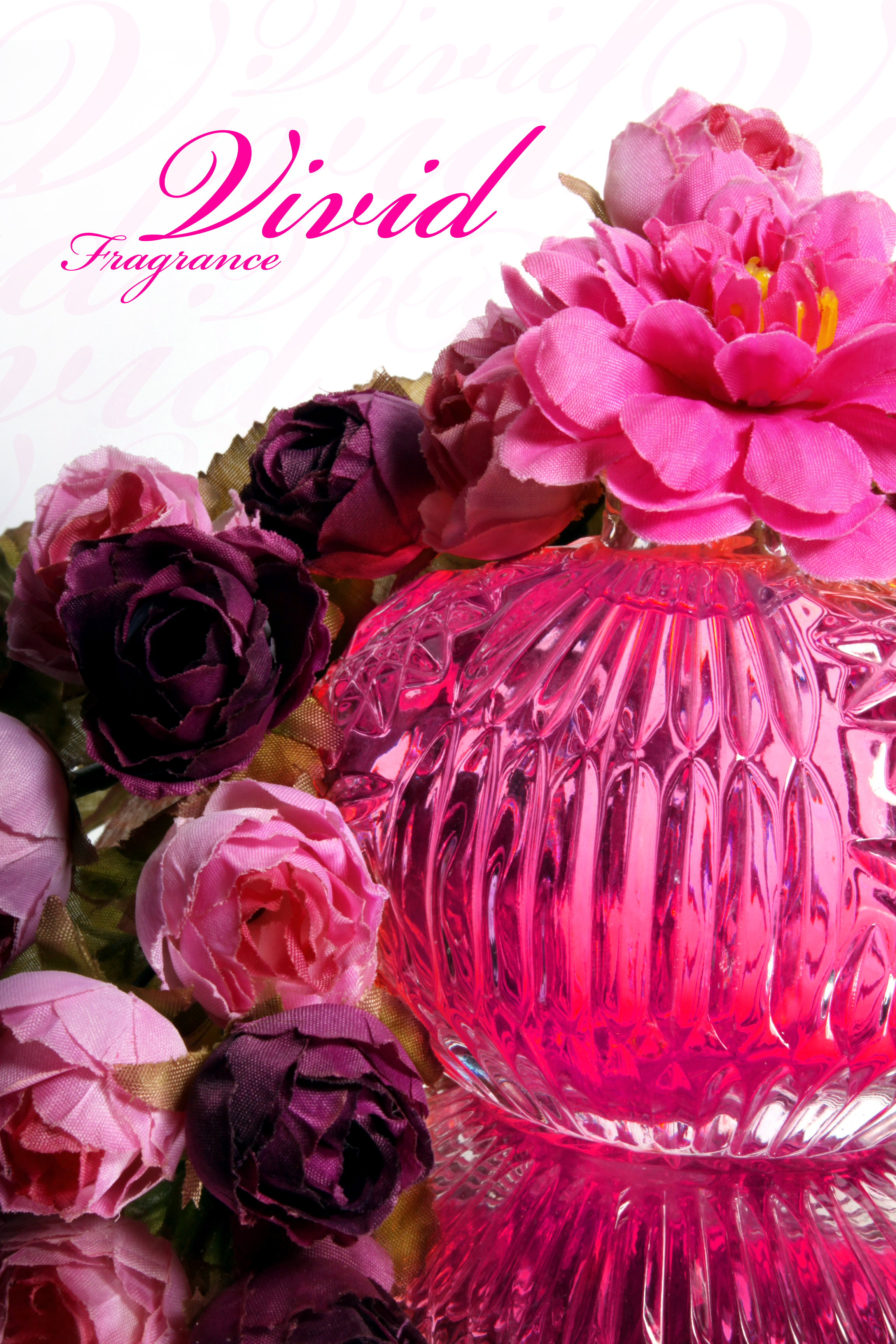 Pink perfume, Liquid, Glass, Perfume, Flowers, HQ Photo