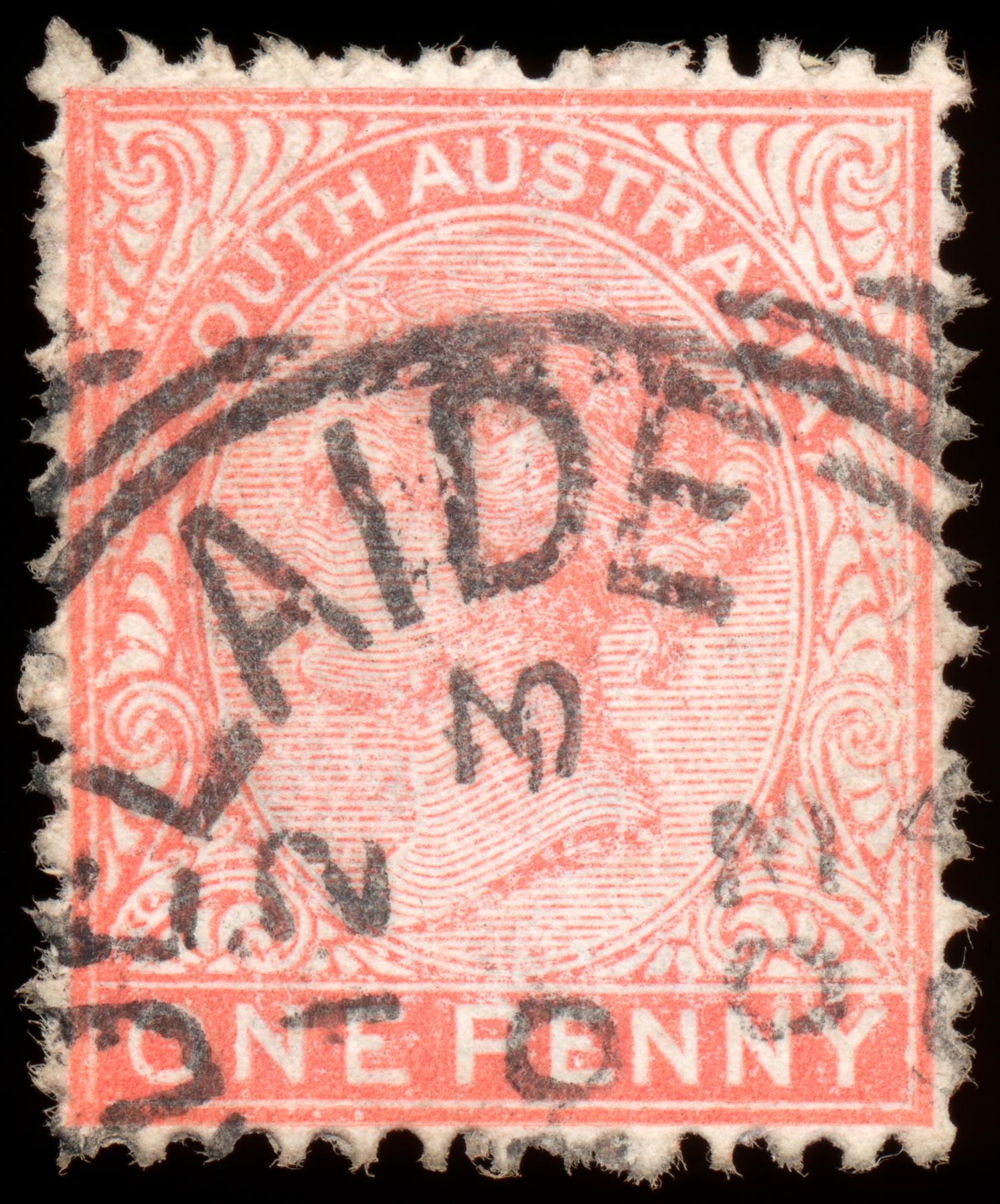 Pink queen victoria stamp photo