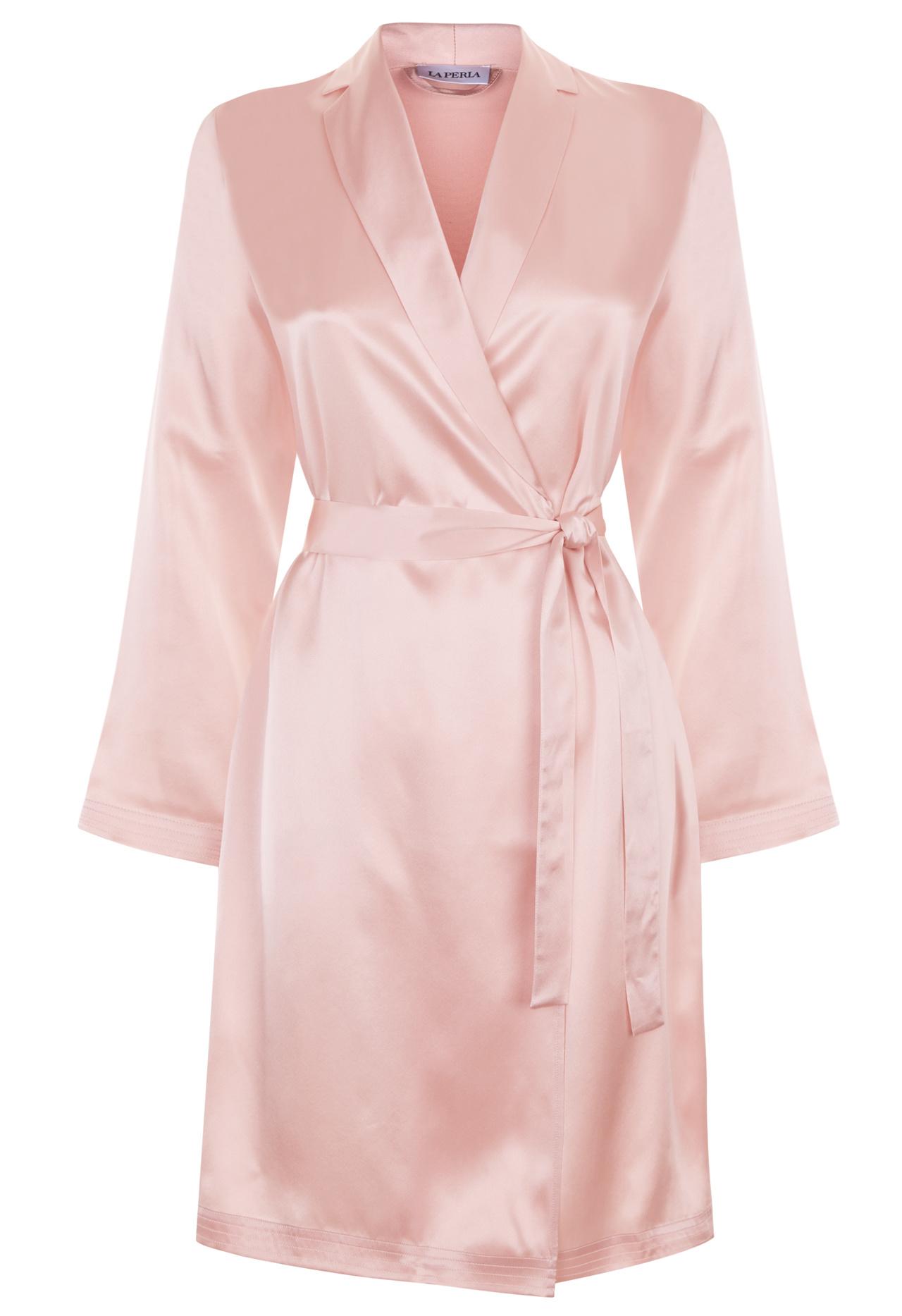 Silk Silk Satin Short Robe | La Perla