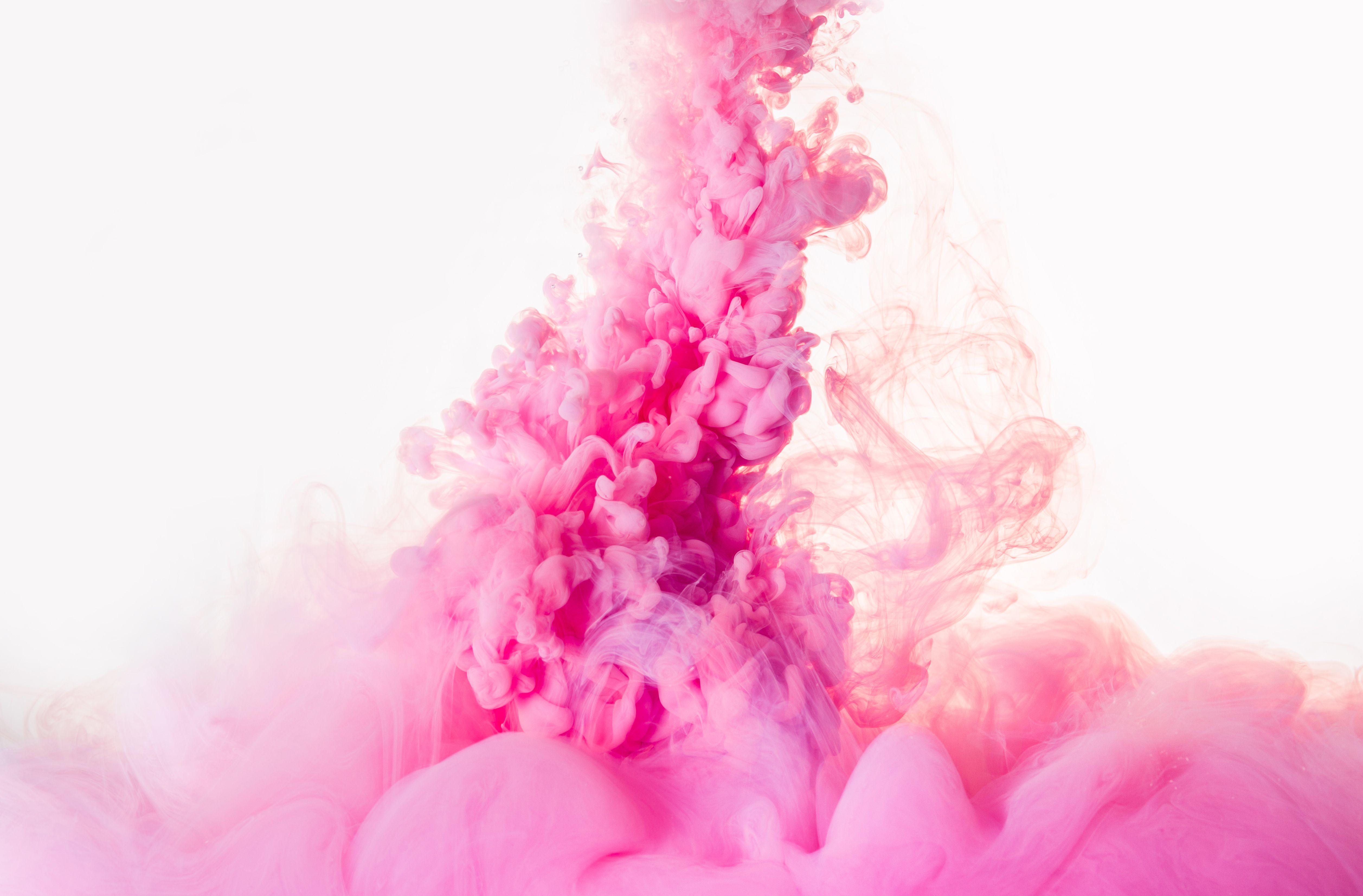 free photo  pink smoke