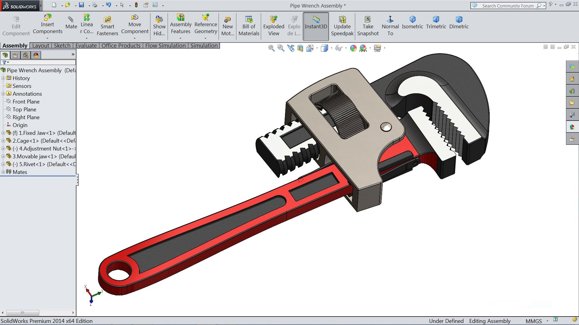 Solidworks tutorial | Sketch Pipe Wrench in Solidworks - YouTube