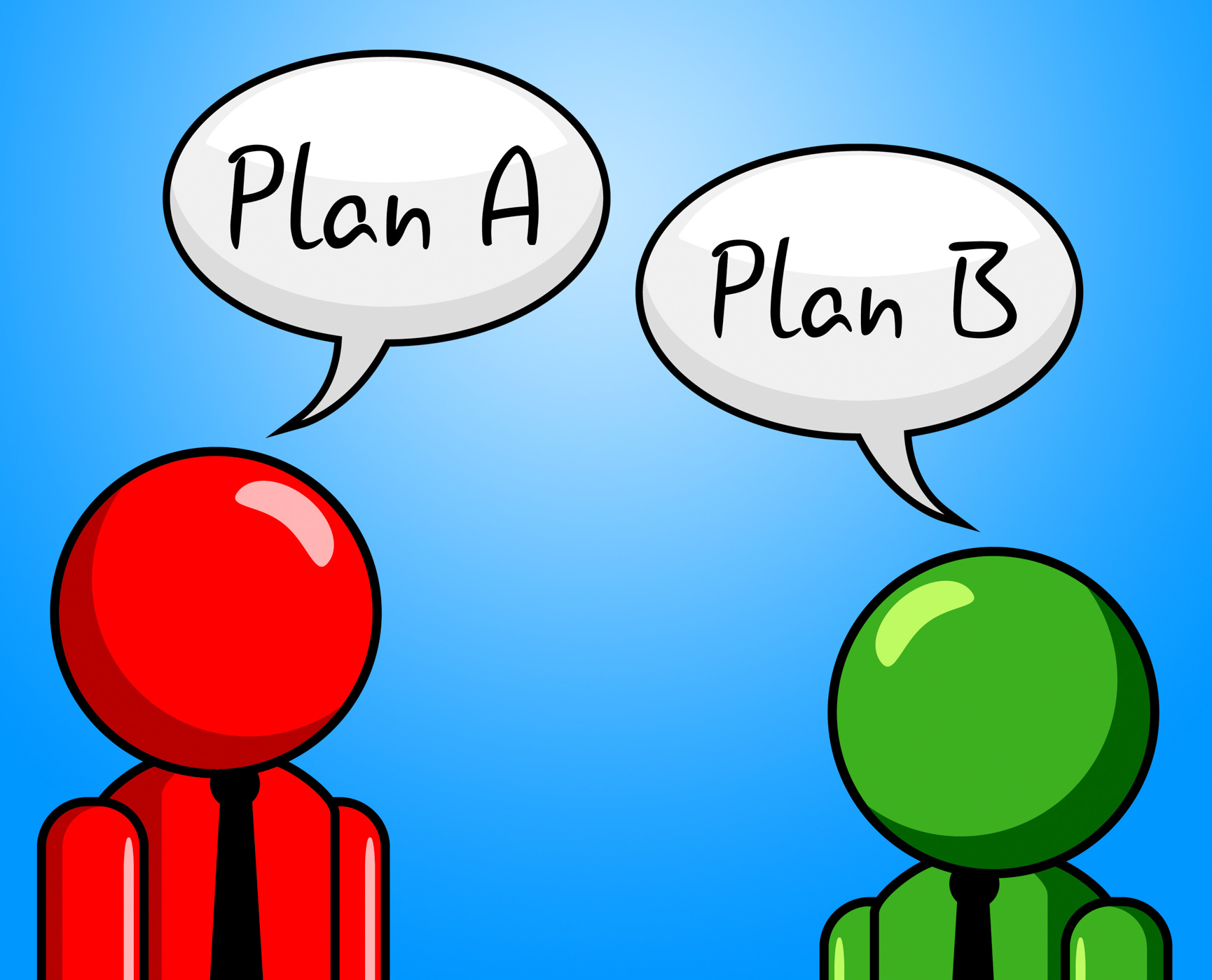 Plan B Indicates Fall Back On And Agenda, Agenda, Ploy, Suggestion, Substitute, HQ Photo