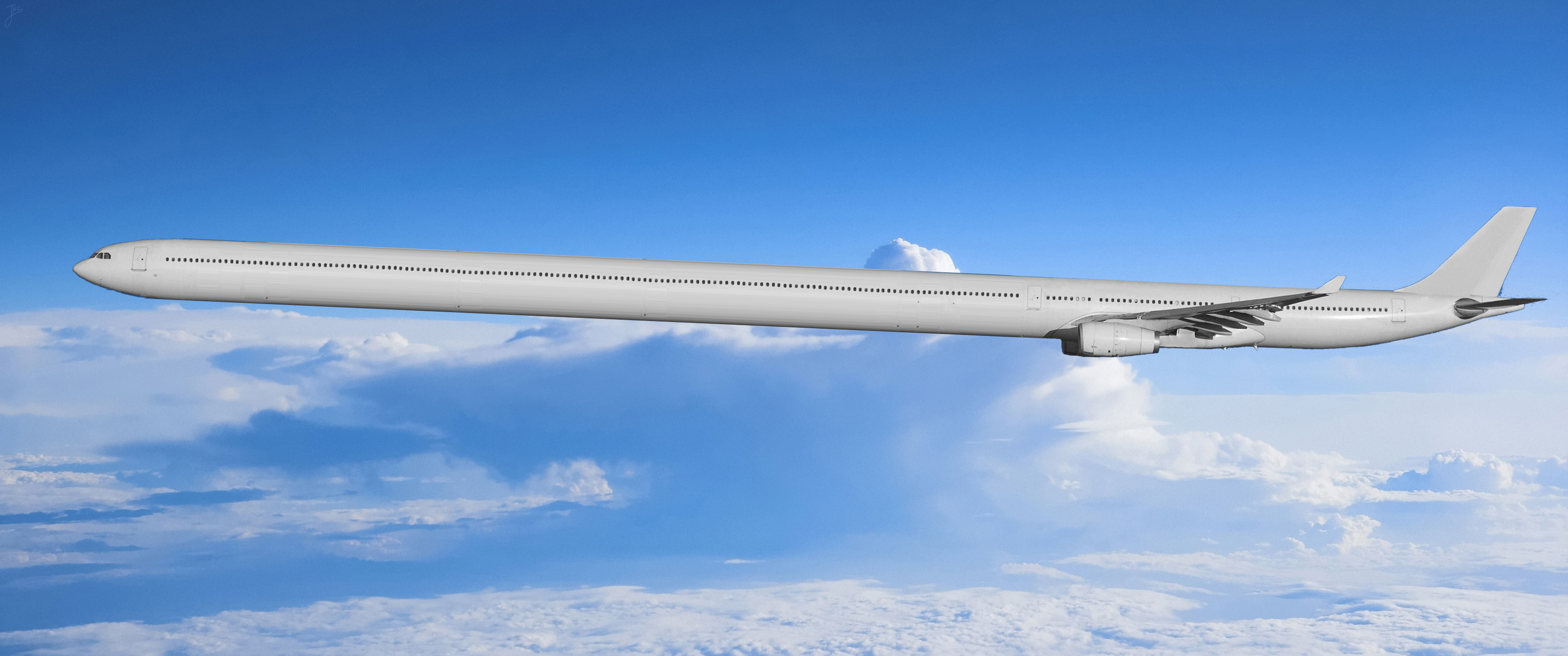 Planes trace photo
