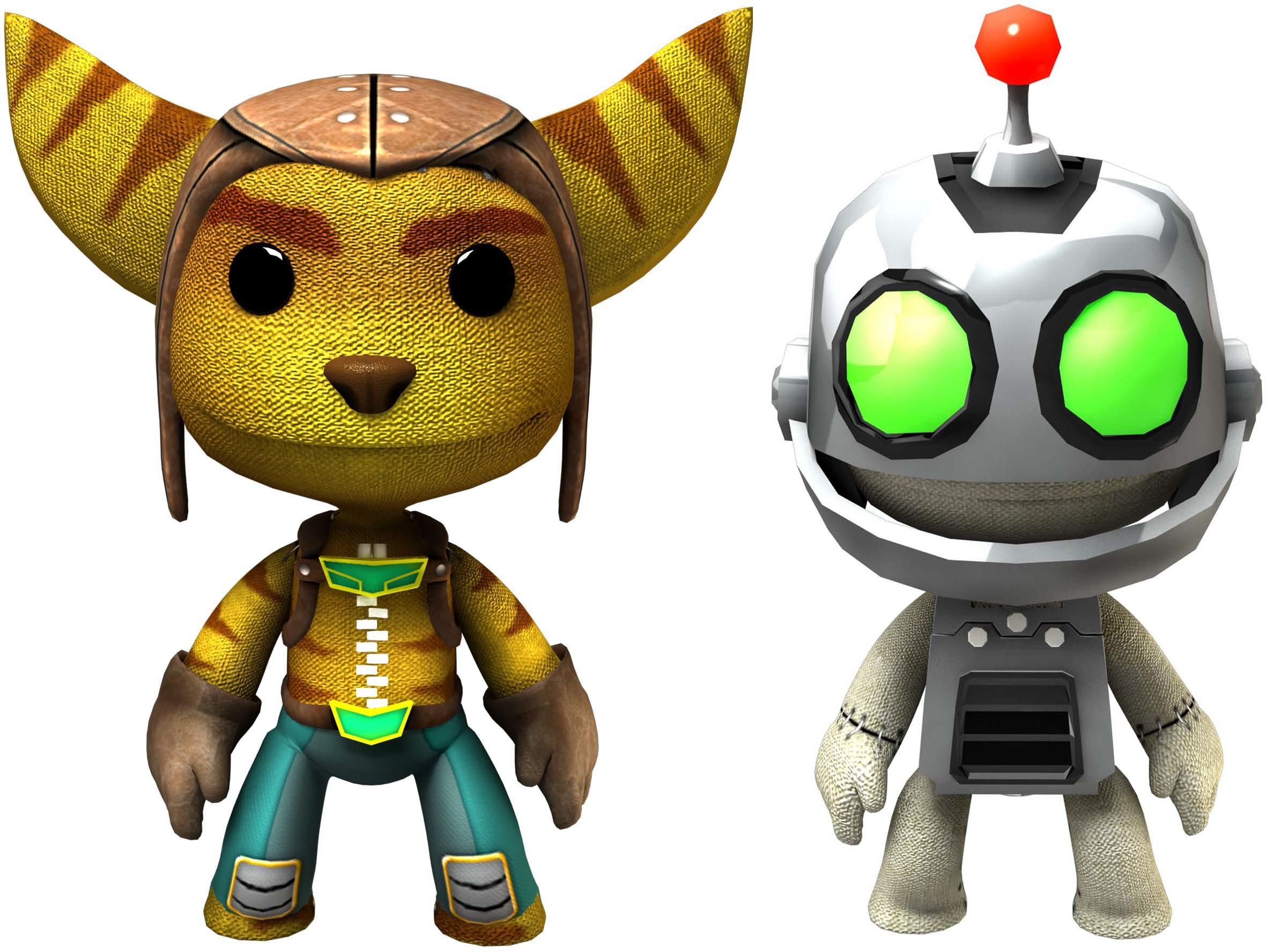 Little Big Planet 2 images Rachet and Clank Add-On HD wallpaper and ...