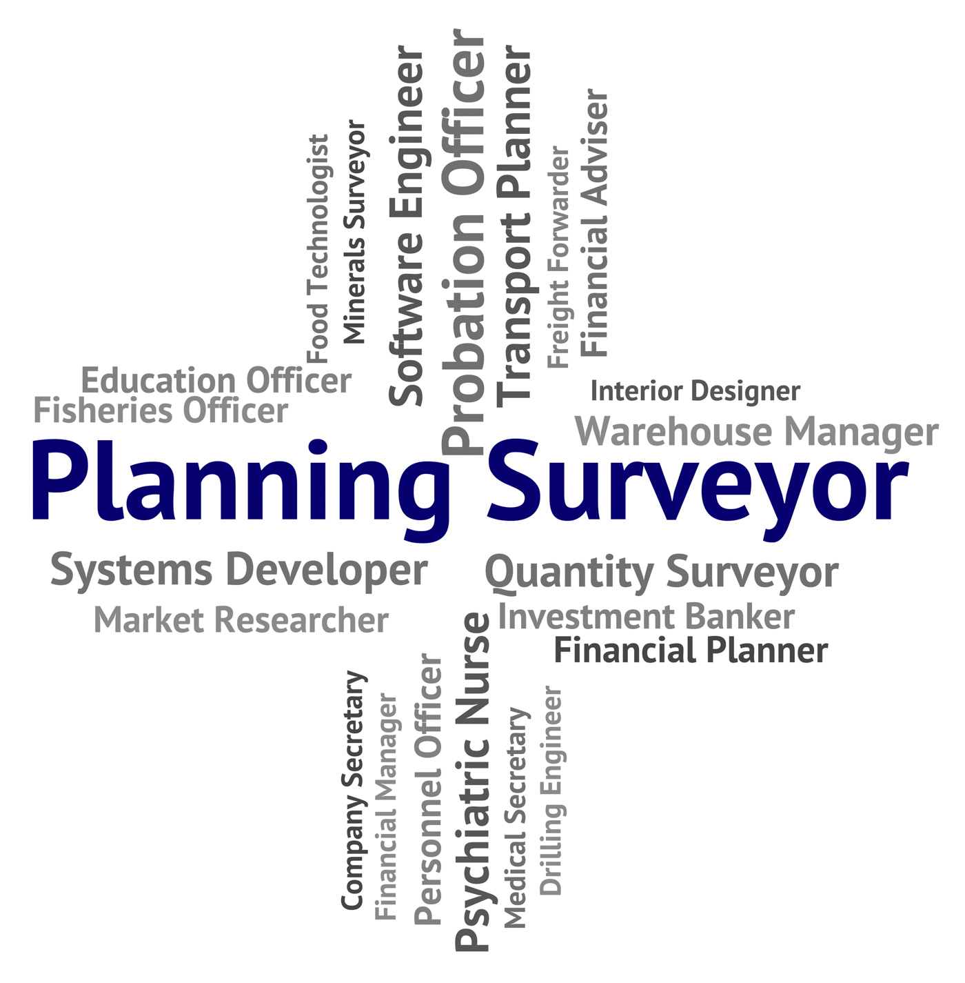 Planning surveyor indicates mission surveying and work photo