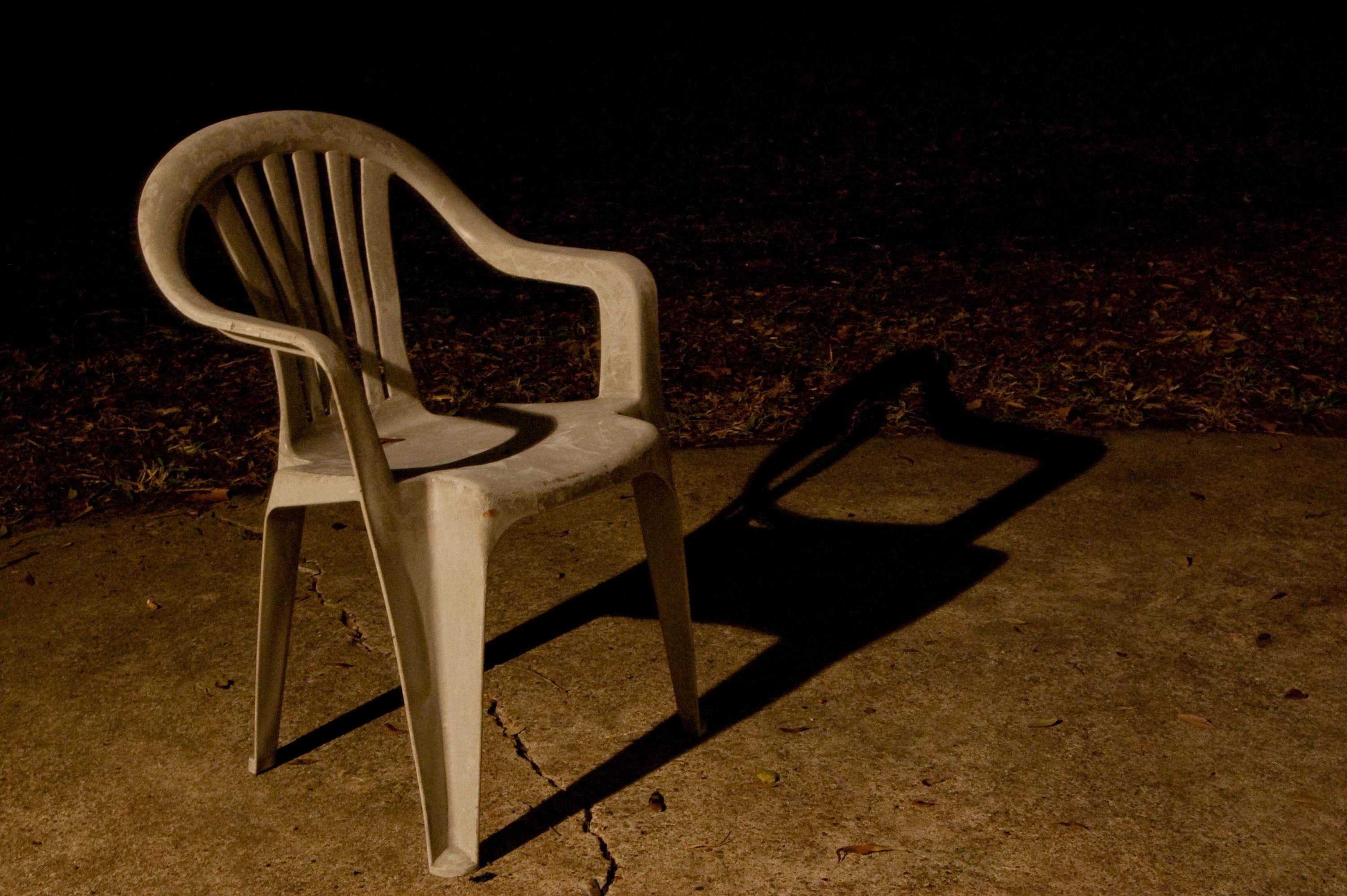 Plastic chair photo
